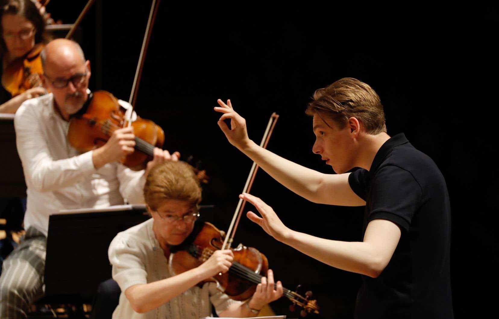 Le nouveau chef de l'Orchestre de Paris, le Finlandais Klaus Mäkelä