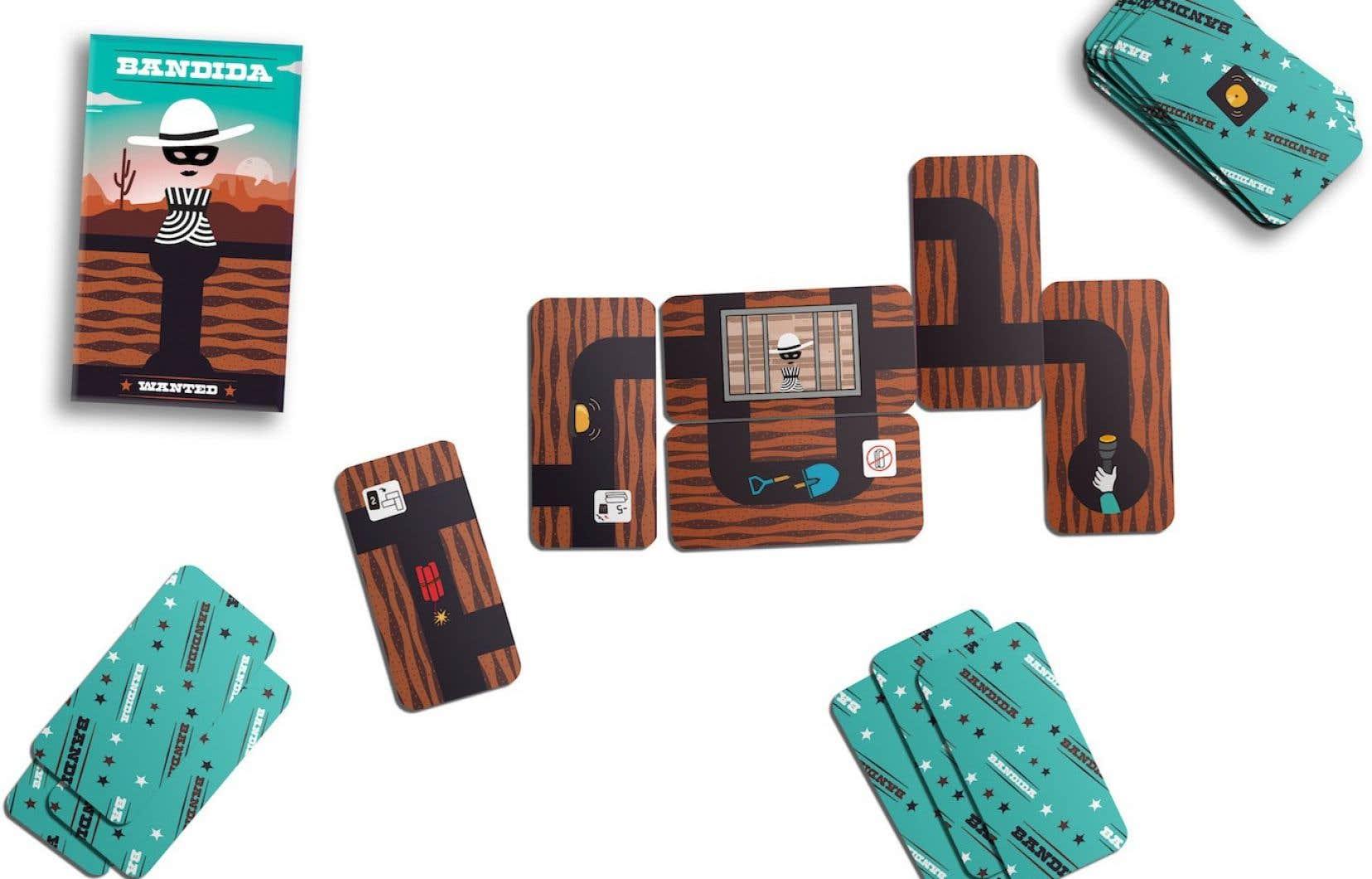 Le jeu Bandida propose plusieurs modes de jeu, permettant de moduler la difficulté ou de varier les plaisirs.