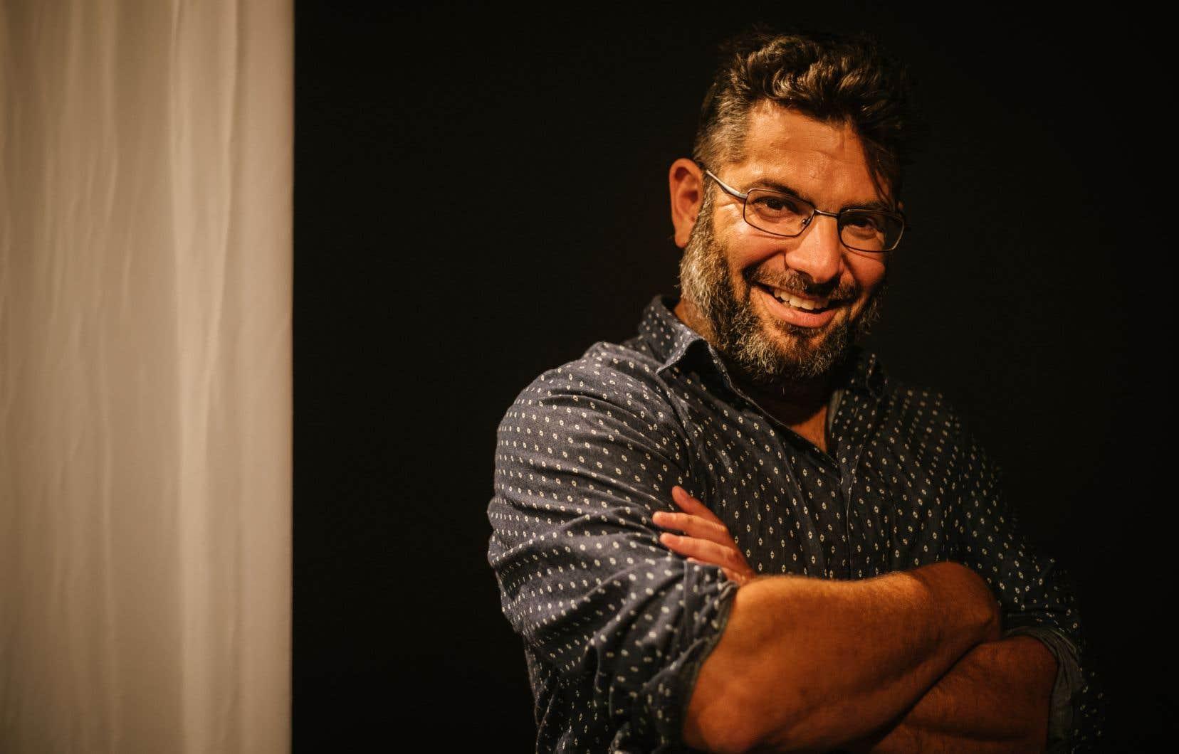 Olivier Kemeid, directeur artistique du Théâtre de Quat'Sous