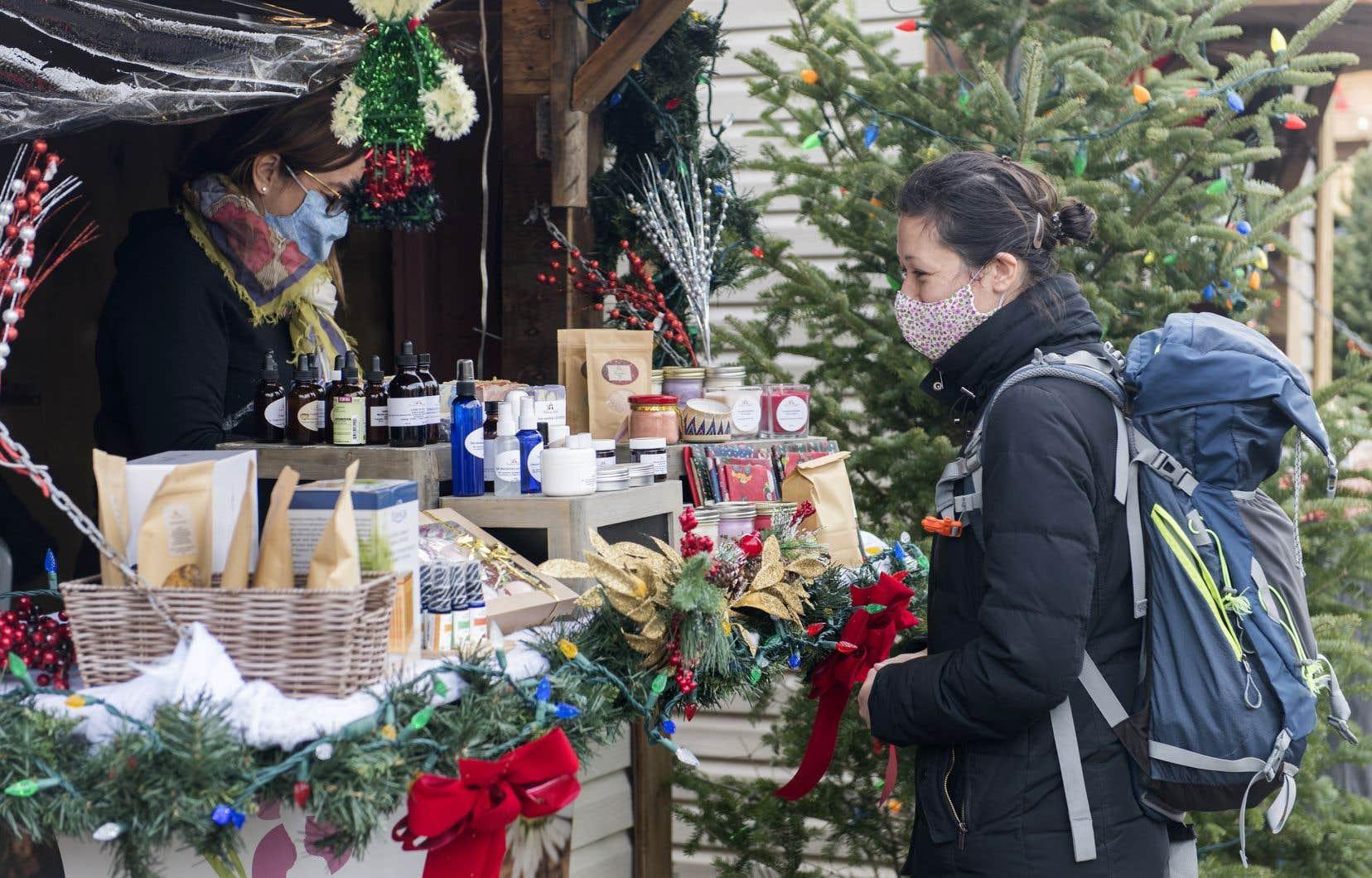 «Adopter le Panier bleu, manger local: ce nouveau credo imposé par la pandémie fait son chemin dans certains milieux», écrivent les autrices.