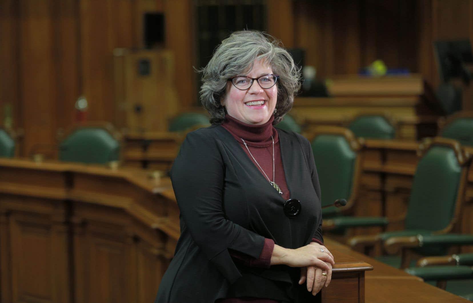 Christine Gosselin siégera désormais comme indépendante et ce, jusqu'à la fin de son mandat en novembre 2021.