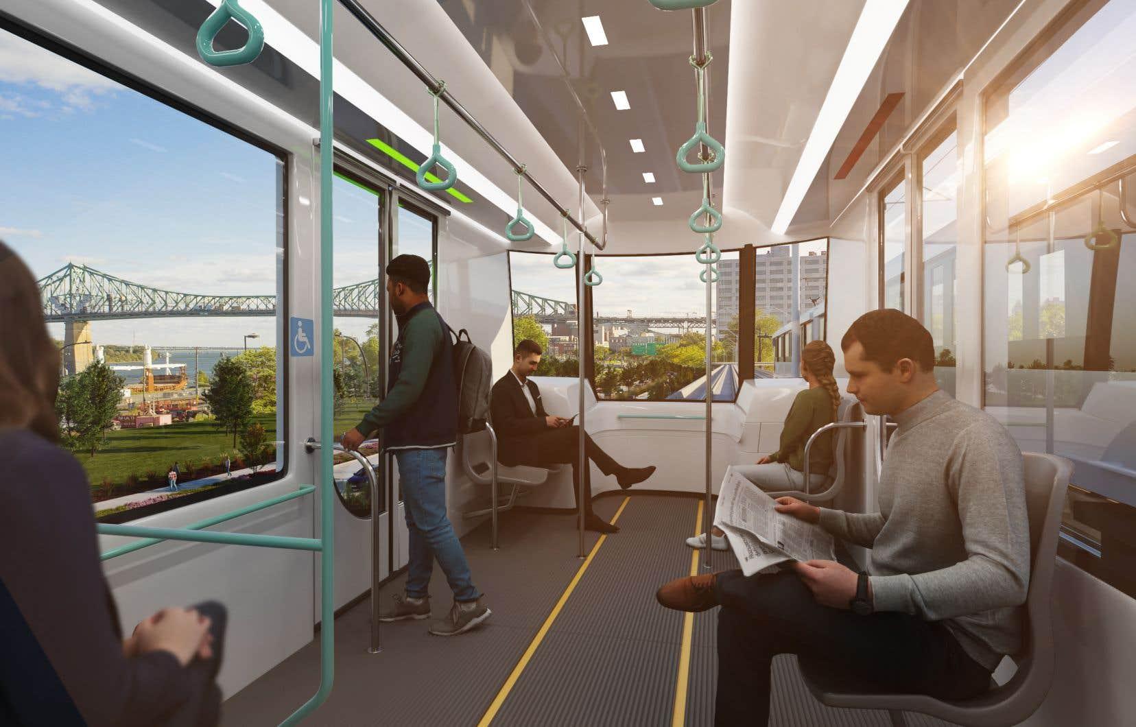 «Le paysage est vu comme un atout pour le projet, mais seulement pour ceux qui seront dans le train», écrit l'autrice.