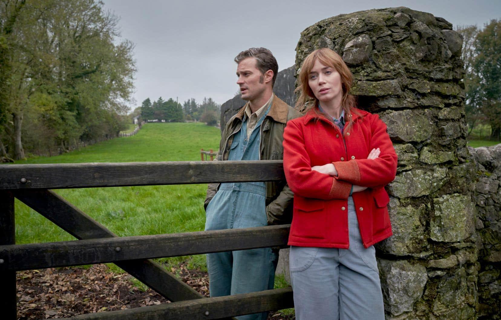Dans «Wild Mountain Thyme», Emily Blunt et Jamie Dornan se chamaillent pour mieux tomber amoureux sur fond de campagne irlandaise.