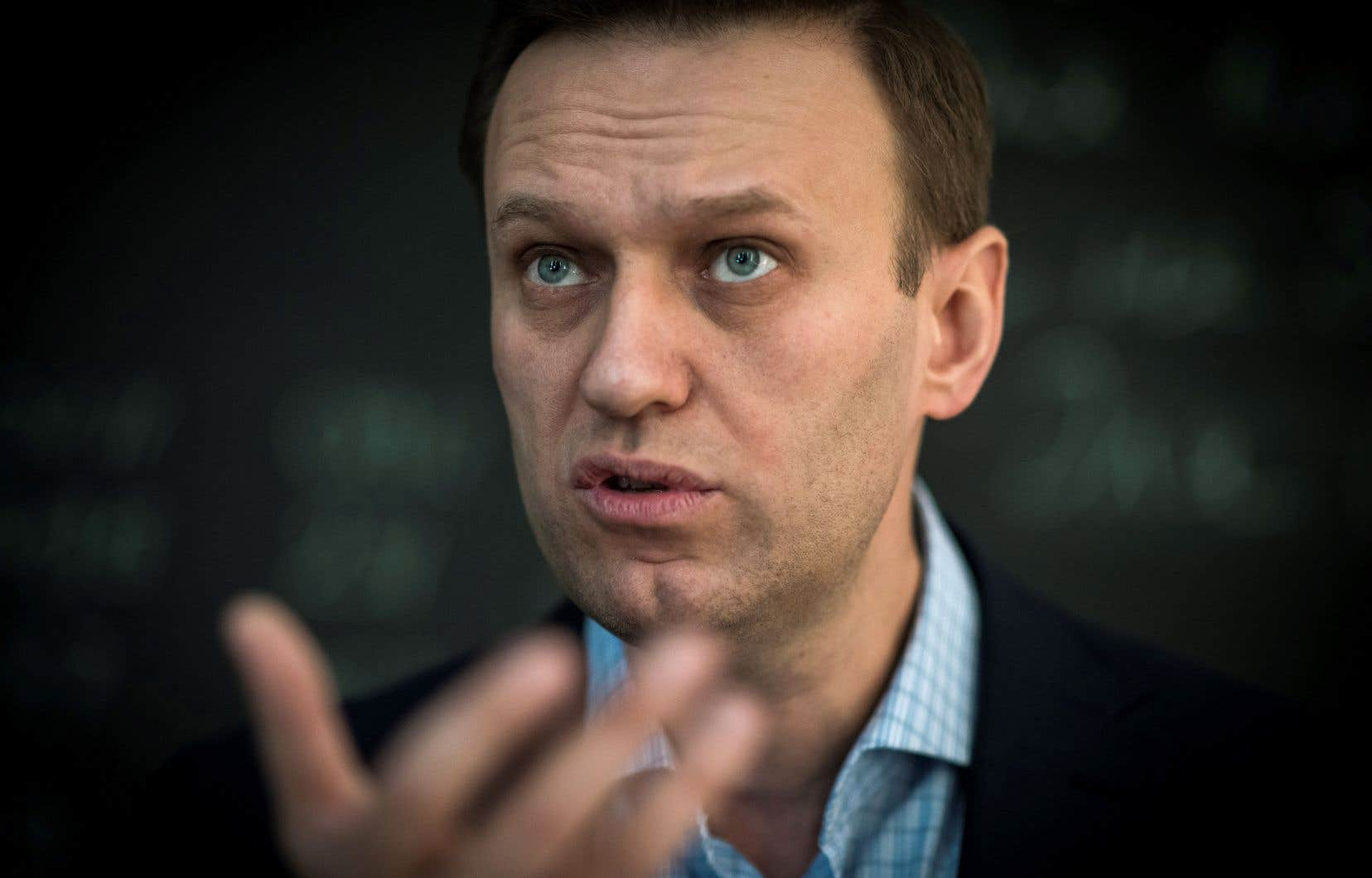 L'opposant russe Alexeï Navalny