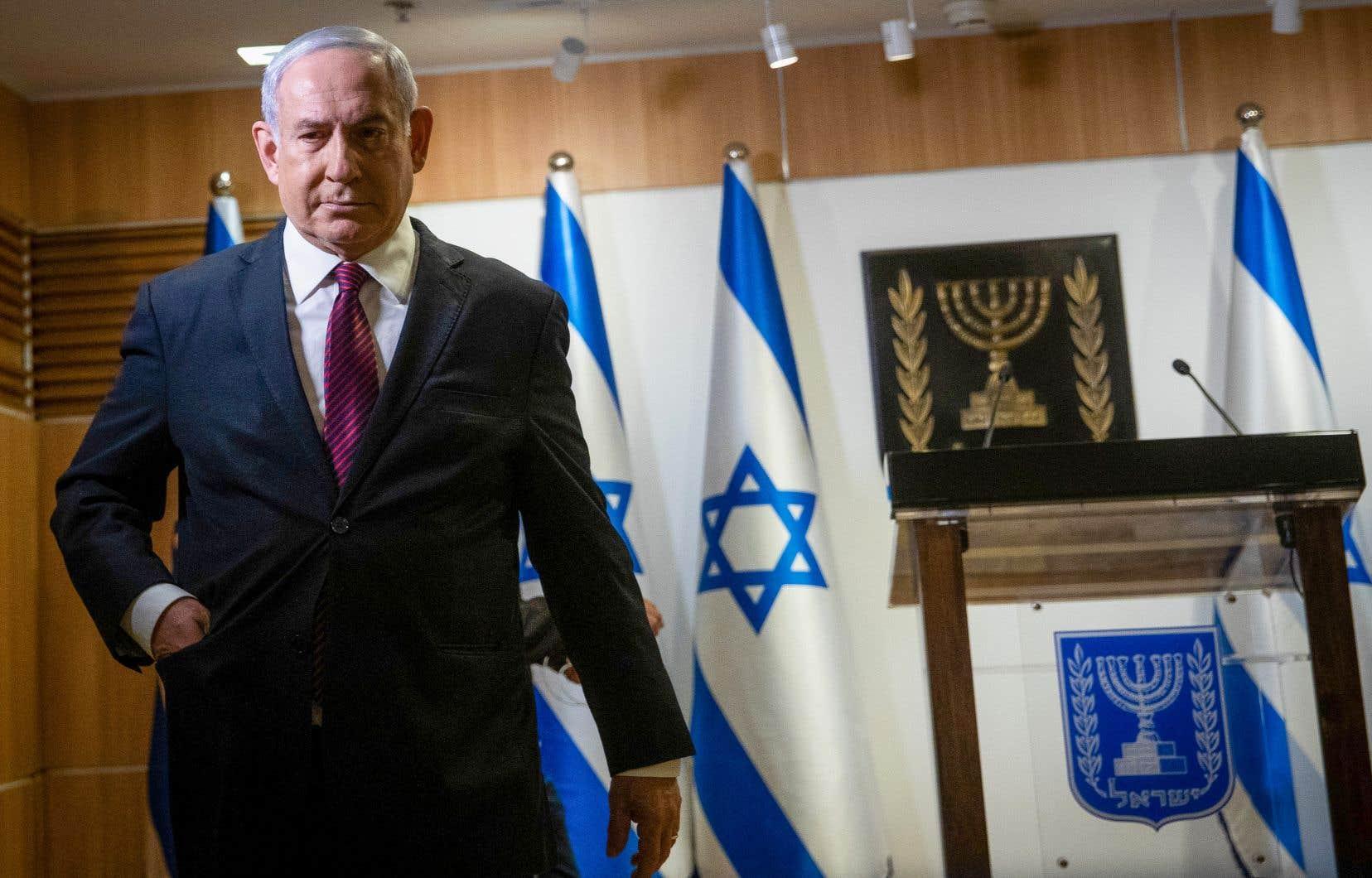 Le premier ministre israélien, Benjamin Nétanyahou
