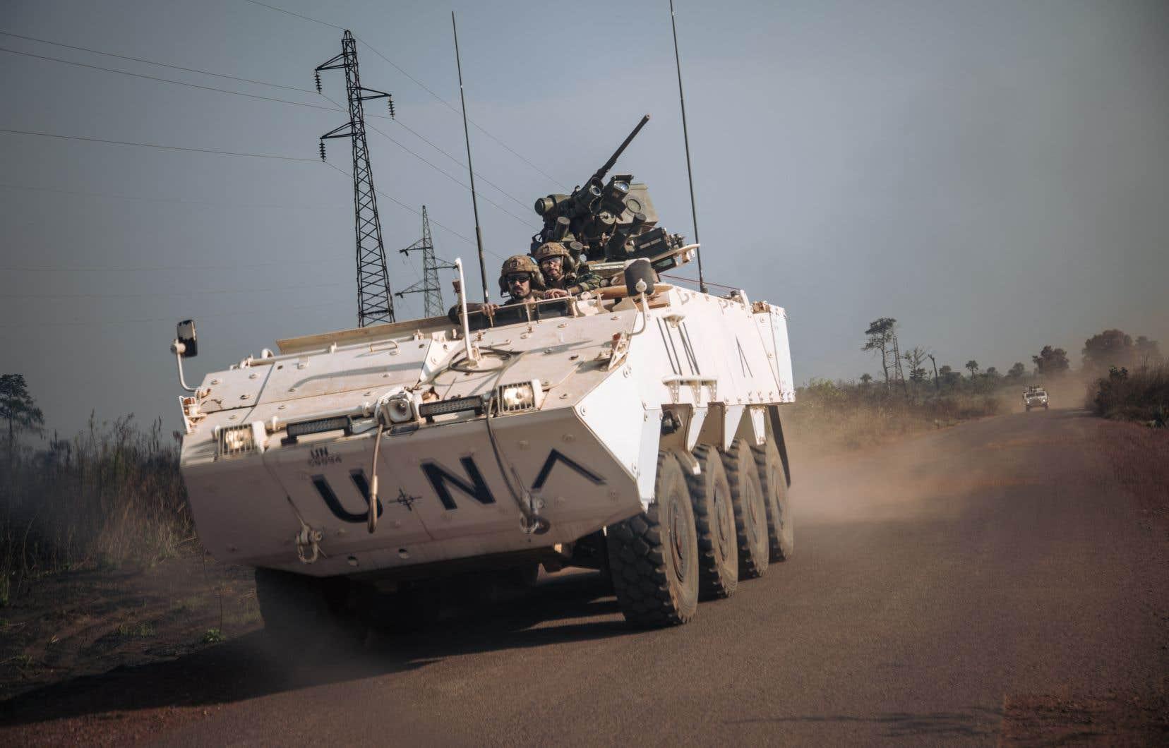 L'attaque a donné lieu à deux heures d'échanges de tirs avec l'armée et des Casques bleus de la Mission de l'ONU en Centrafrique (Minusca), ont précisé de hauts responsables d'ONG et de l'ONU.