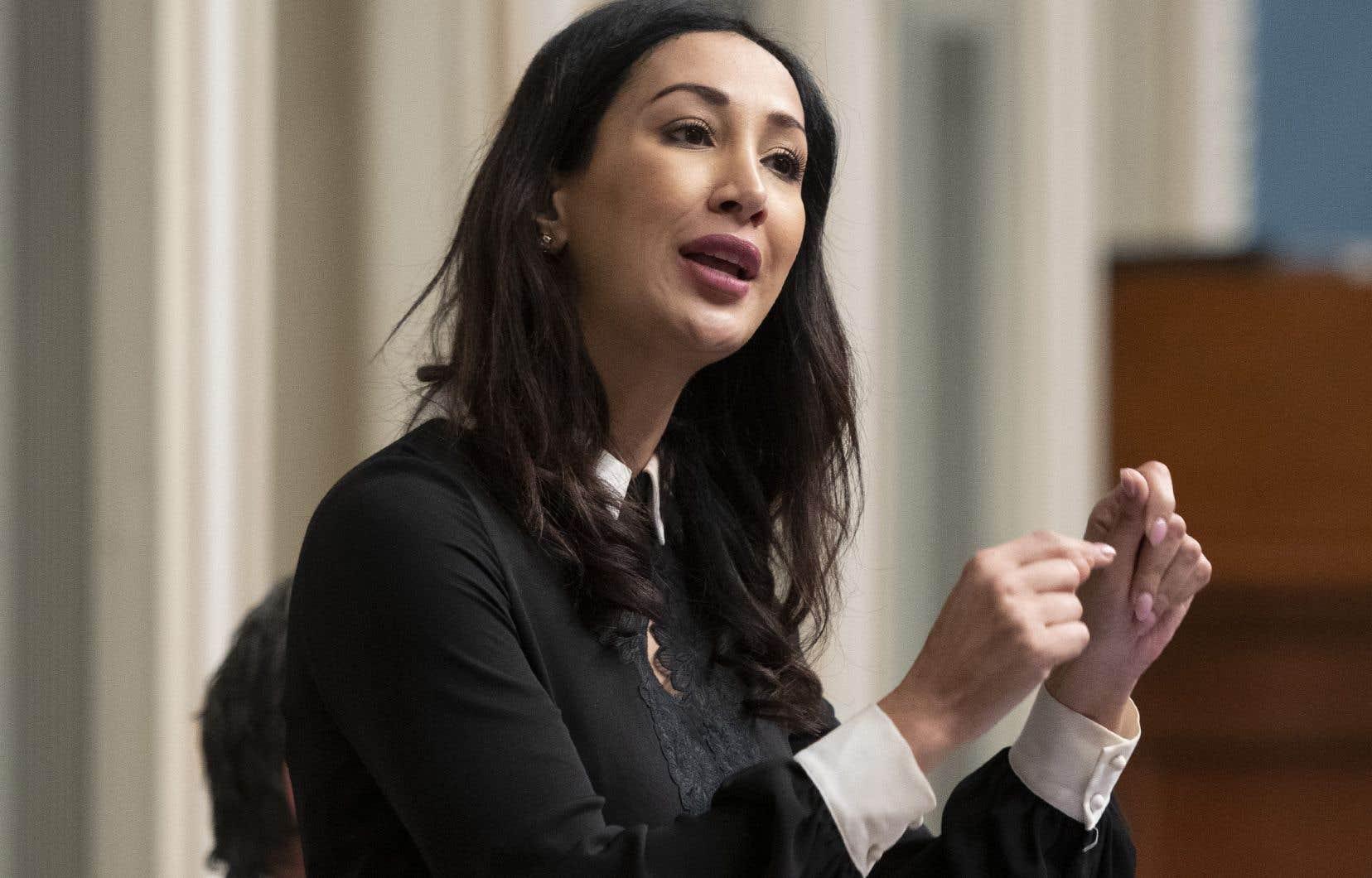«La vérificatrice générale devrait regarder toutes ces dépenses», disait mardi la députée libérale Marwah Rizqy.