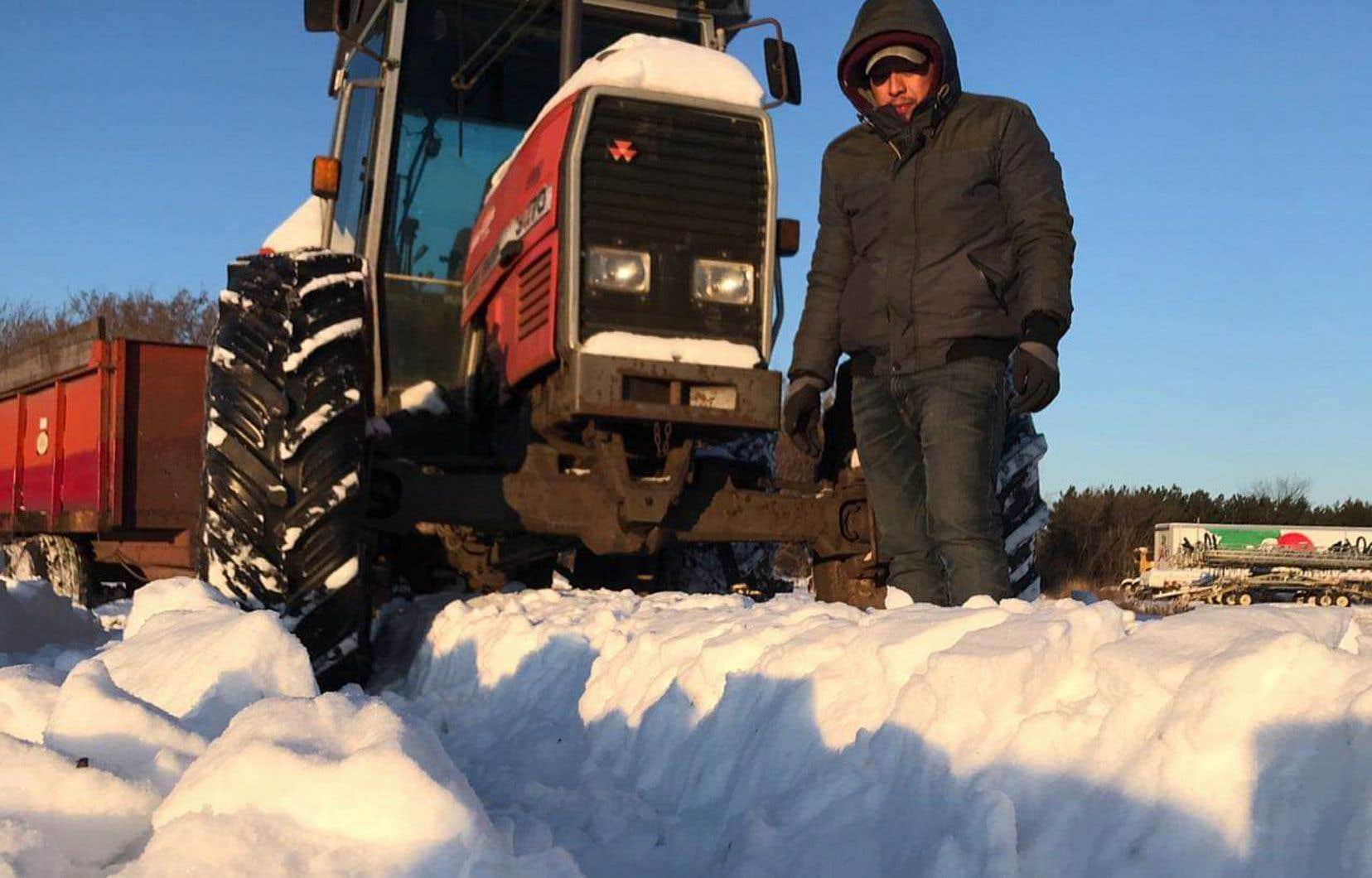 Les agences de recrutement international de main-d'œuvre FERME et Arimé estiment qu'environ 5000 travailleurs étrangers œuvrant dans les secteurs agricoles (laitier, porcin, avicole, serres et emballage maraîcher) passeront cette année l'hiver au Québec.