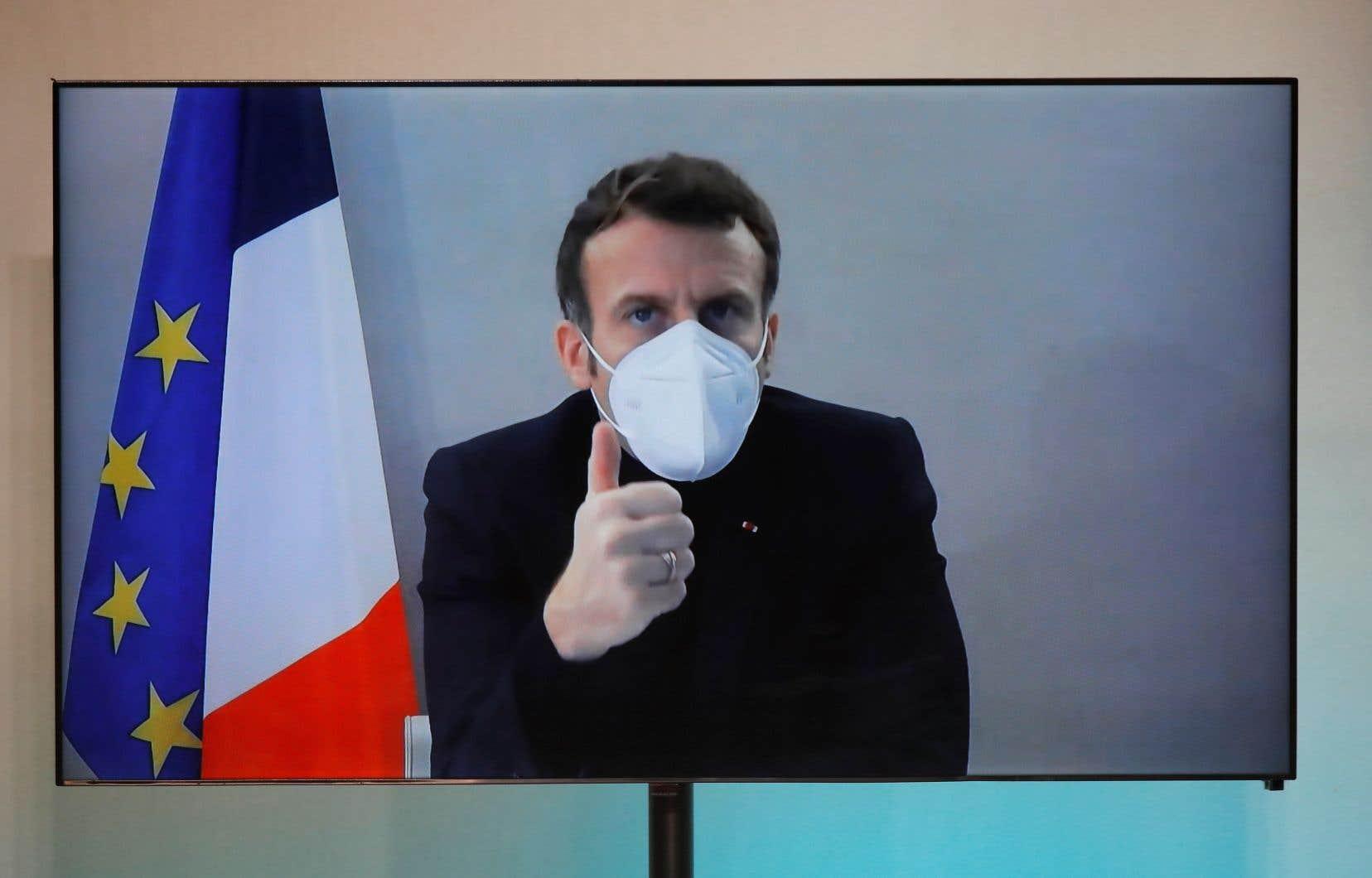 Le président françaisavait été déclaré positif à la COVID-19 le 17décembre.