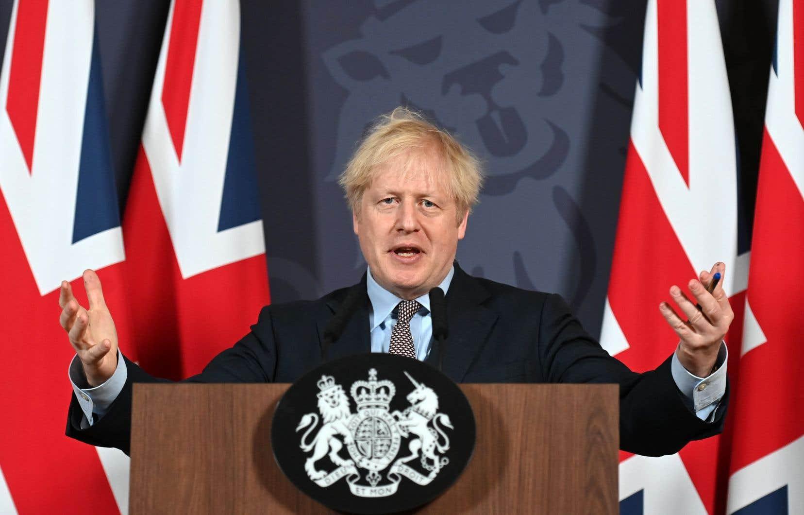 Boris Johnson a promis que son pays resterait l'«ami», «l'allié» et «le premier marché» des Européens.