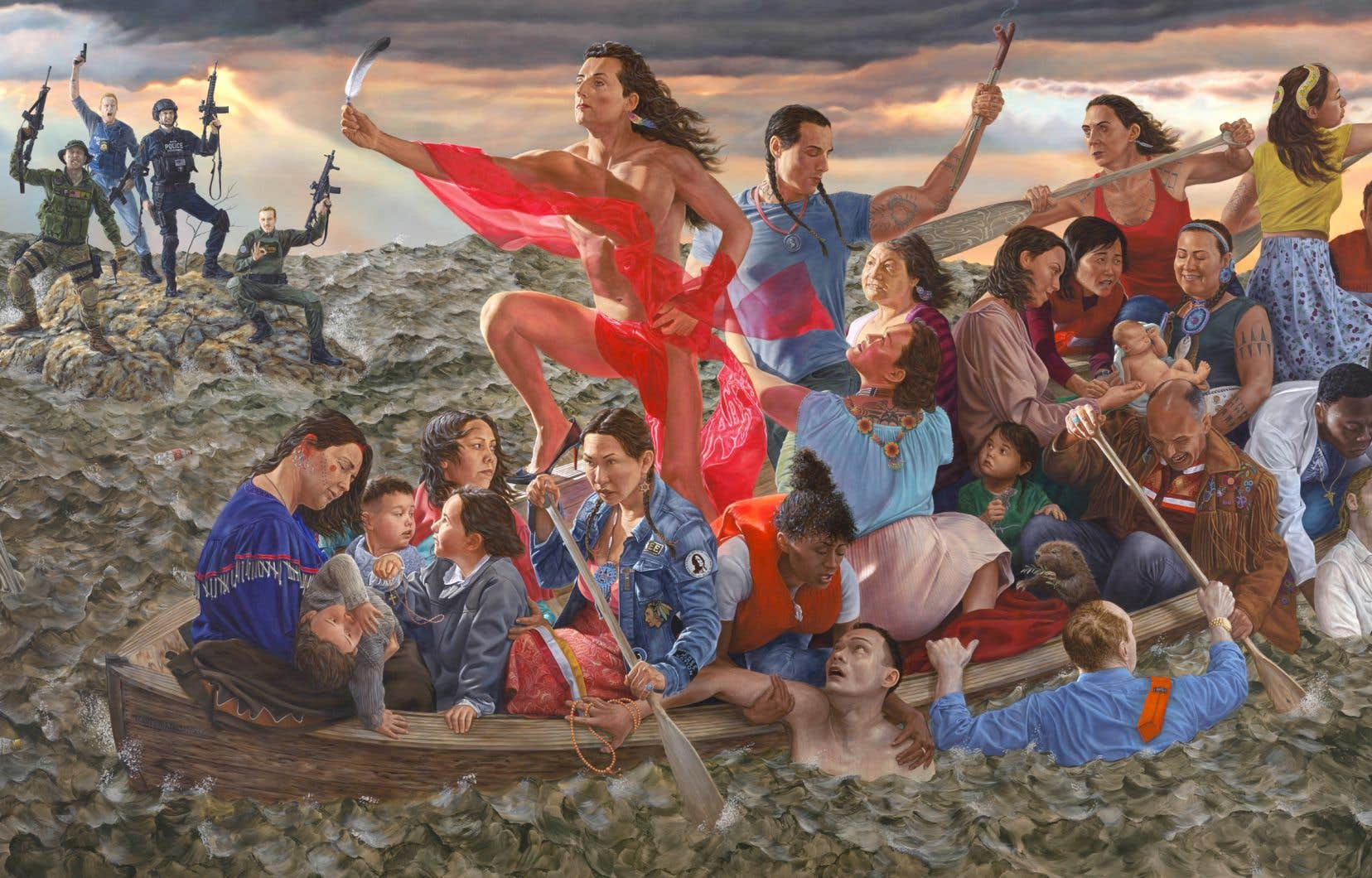 Kent Monkman, «Resurgence of the People», 2019. Collection du Metropolitan Museum of Art.
