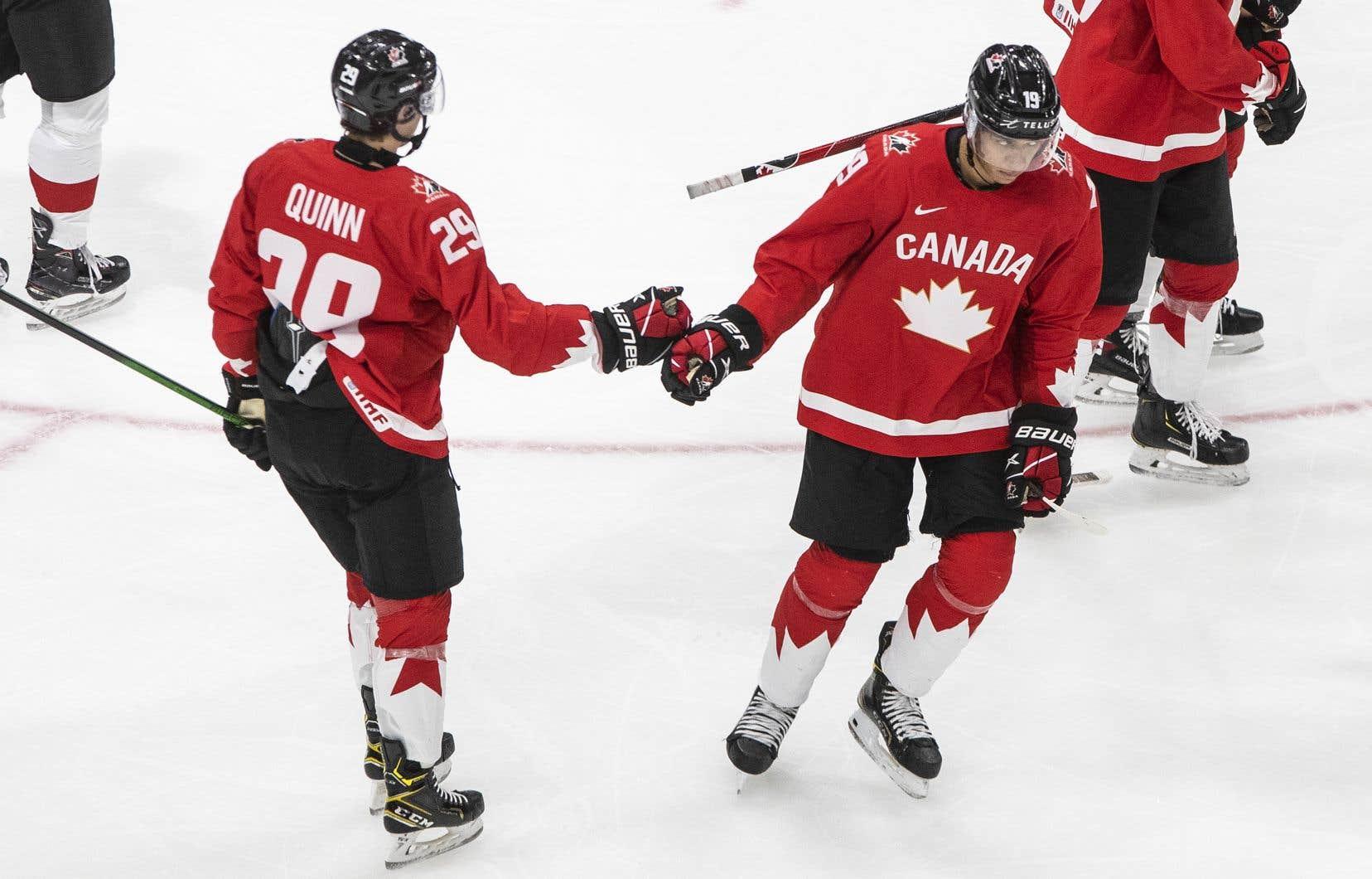 Champion en titre, le Canada a démoli Suisses et Allemands, en plus de l'emporter 3-1 devant les Slovaques.