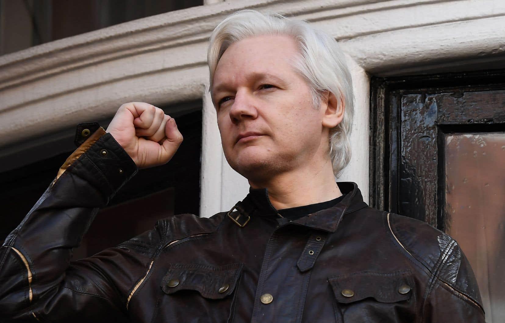 Julian Assange est poursuivi aux États-Unis pour espionnage et risque 175ans de prison.