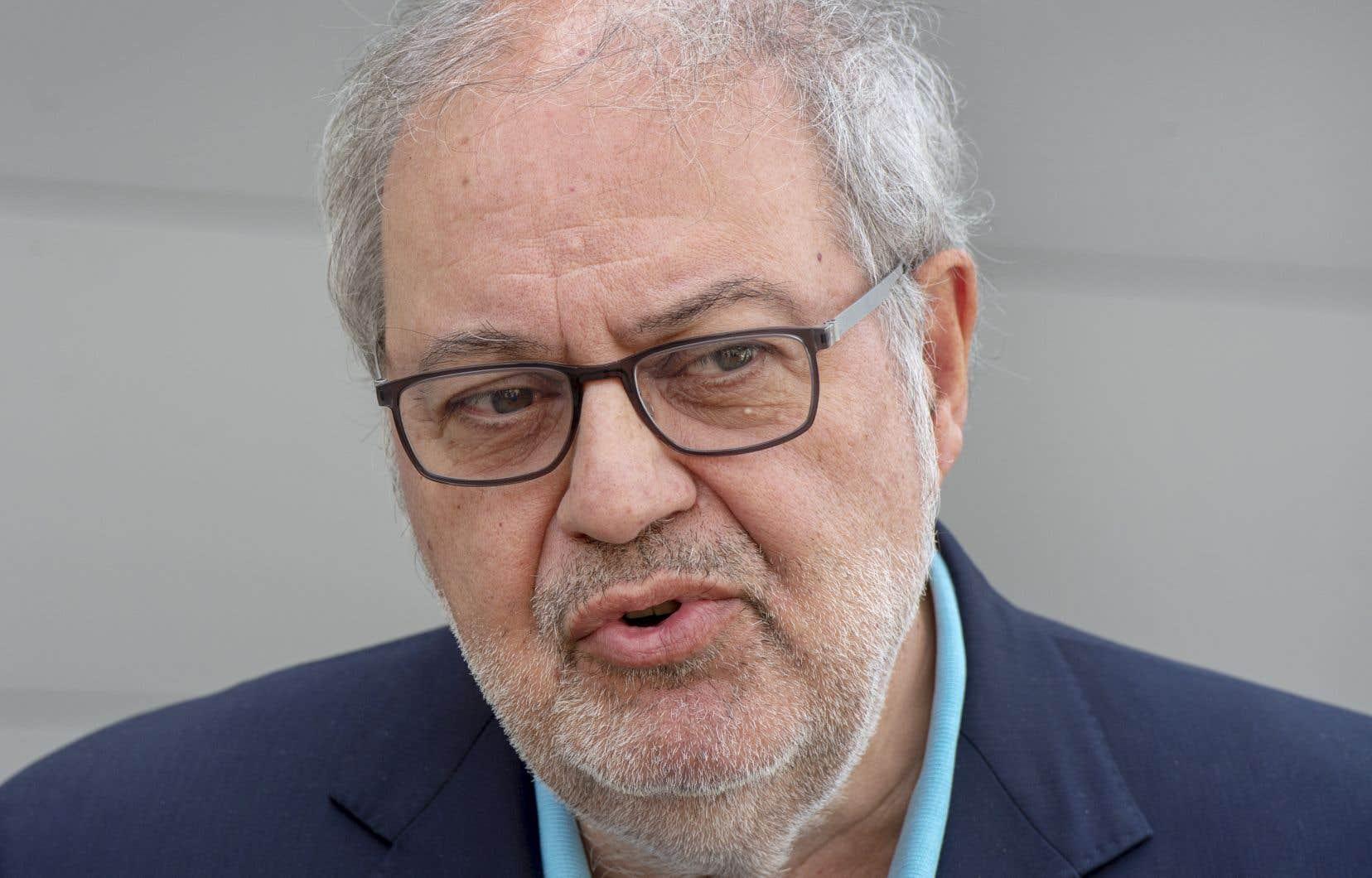 Le député libéral Pierre Arcand