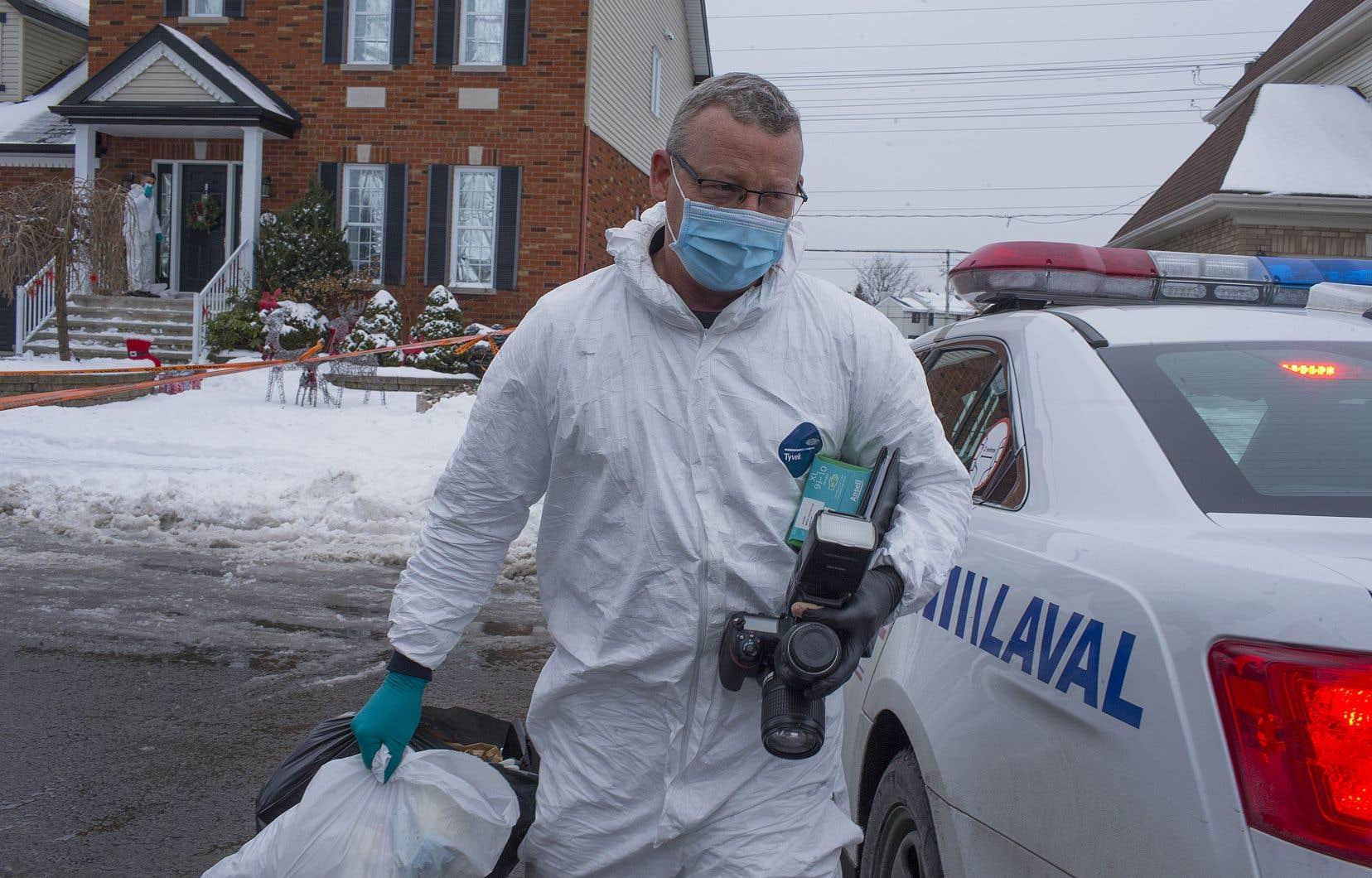 La police de Laval considère toujours la mort de l'enfant comme suspecte.