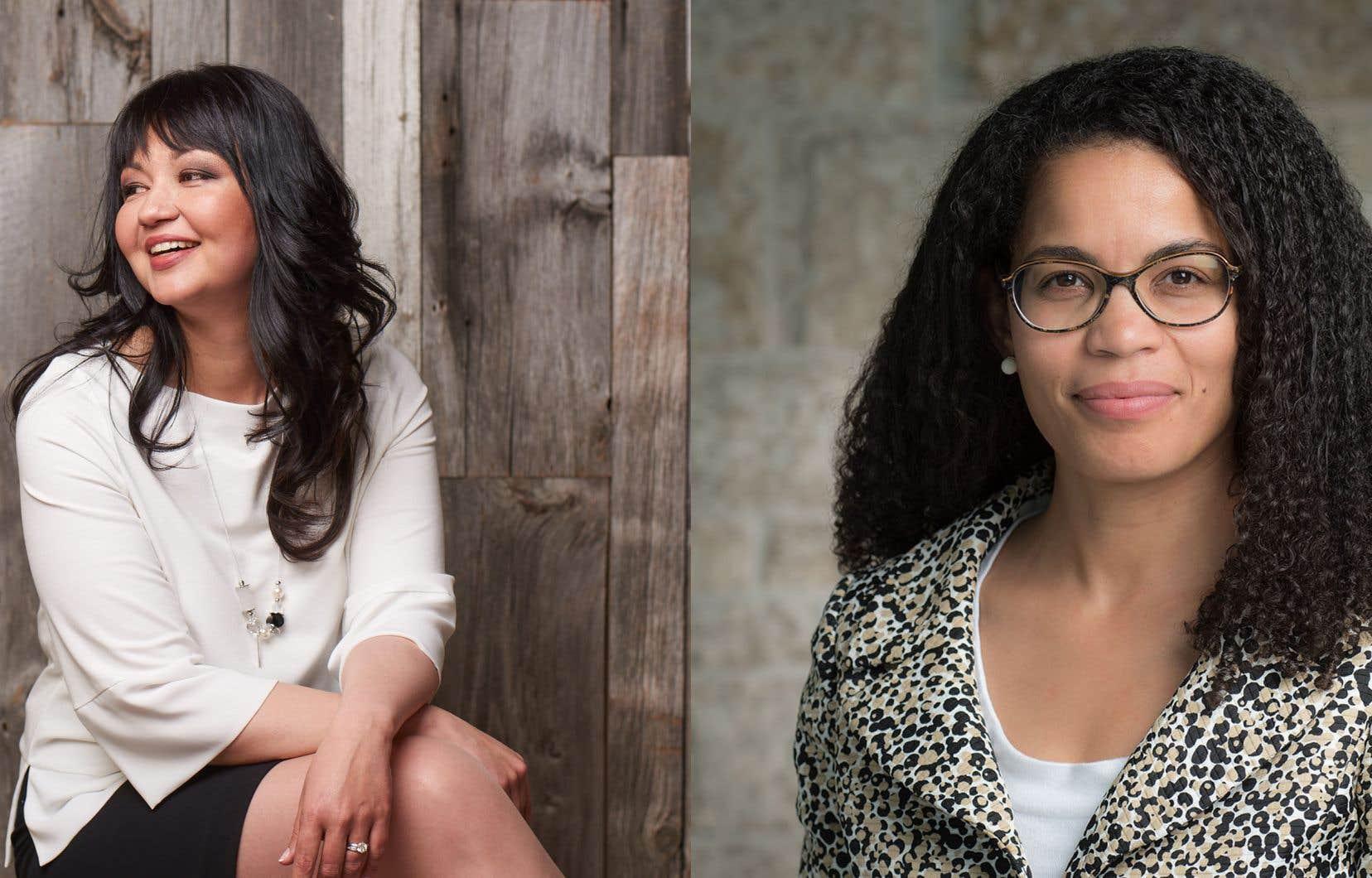 Angela Cassie (à droite) sera vice-présidente à la transformation stratégique et à l'inclusion, tandis que Tania Lafrenière sera vice-présidente principale aux personnes, à la culture et à l'appartenance.