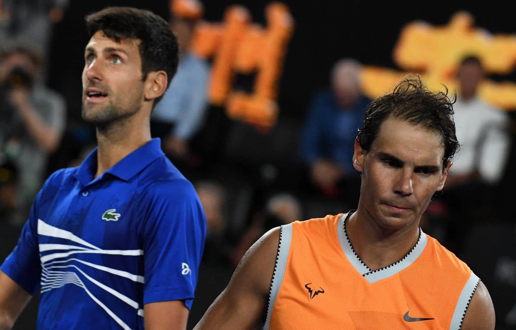 Des étapes importantes sont à venir pour des vedettes telles que Nadal, Novak Djokovic et Serena Williams en 2021.