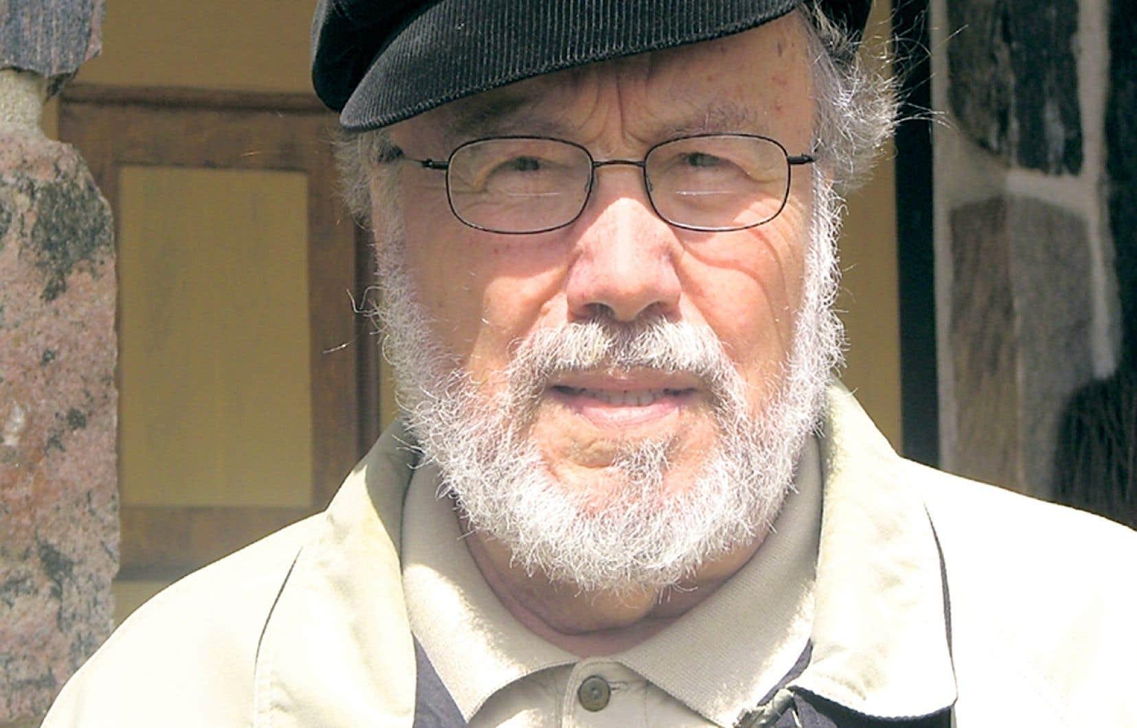 Le professeur et historien Laurent Mailhot, en 2017