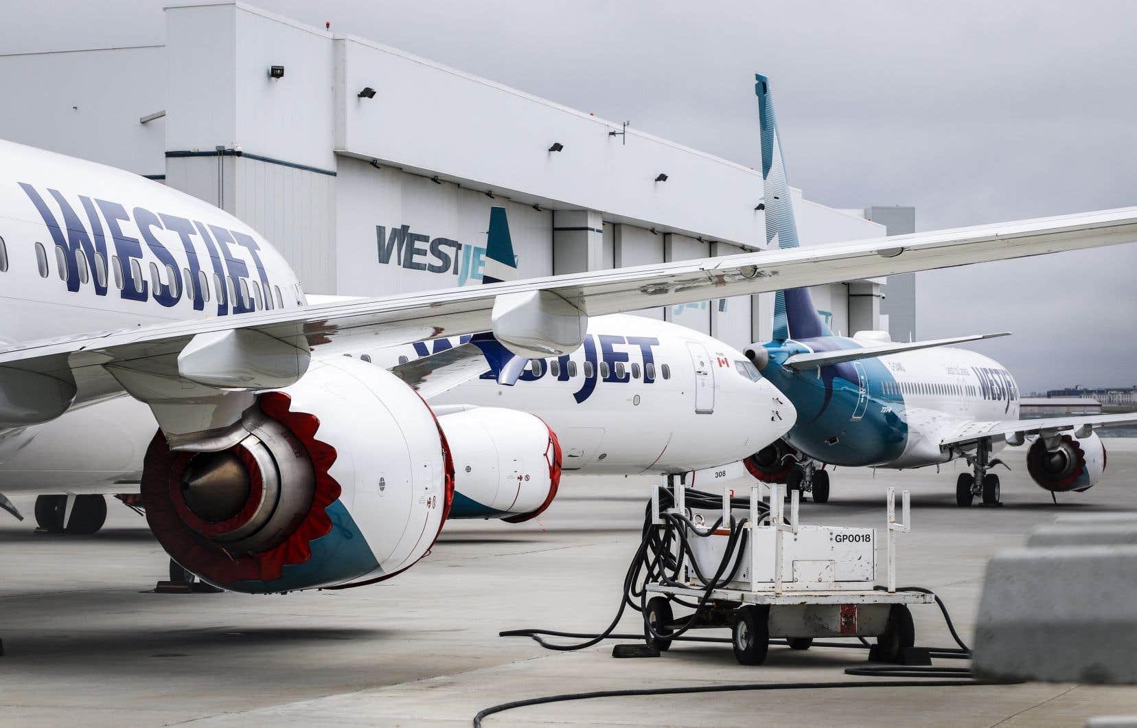 Des Boeing 737 Max aux installations aéroportuaires de Calgary, en Alberta