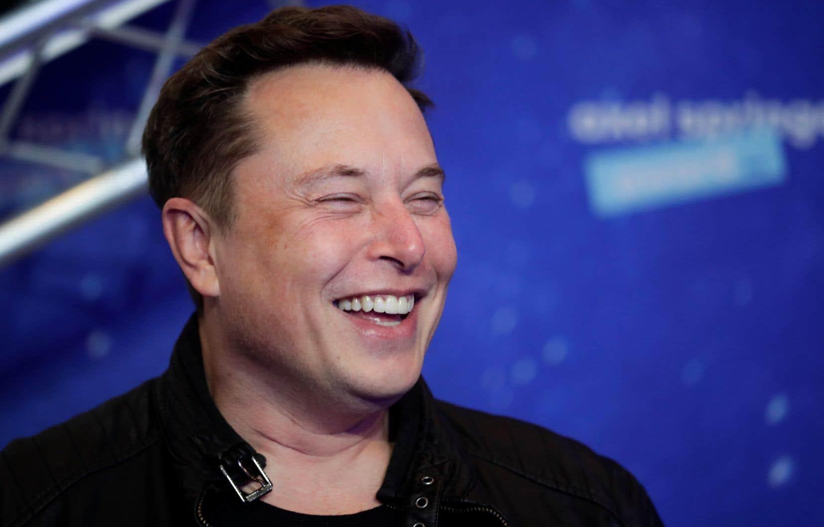 Elon Musk, le patron du constructeur de véhicules électriques haut de gamme Tesla