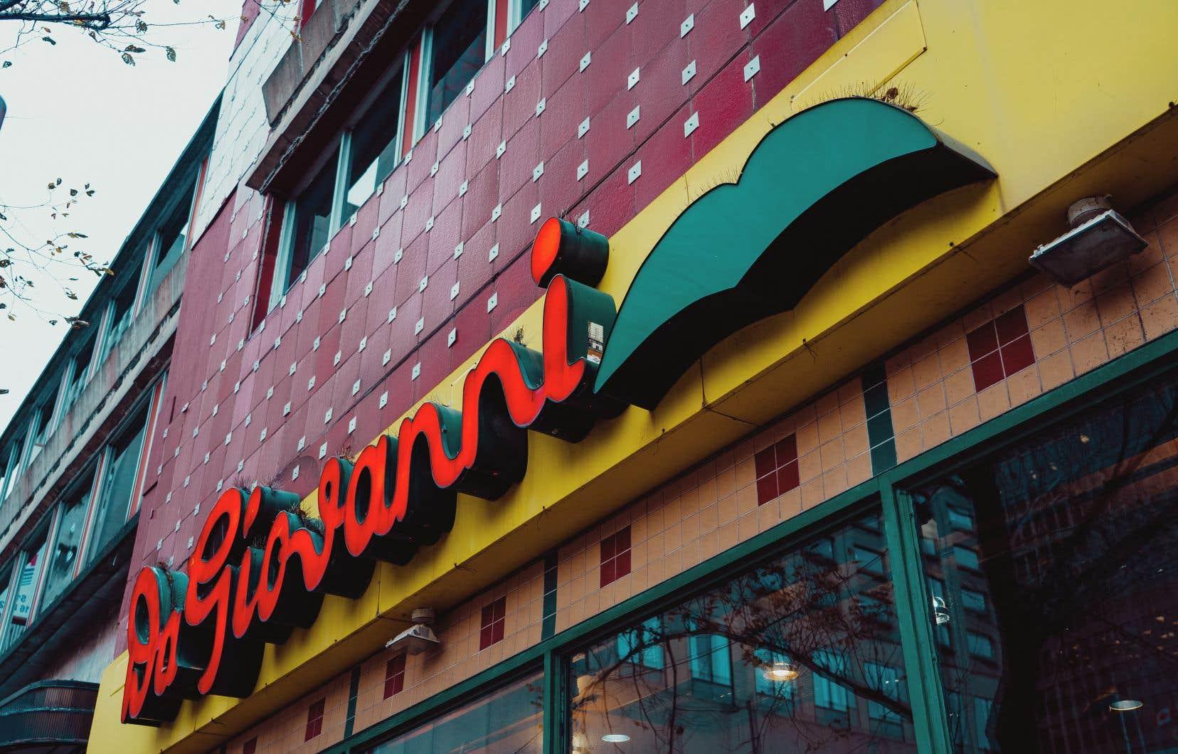L'opération forcera les locataires, parmi lesquels le restaurant Da Giovanni, à se relocaliser temporairement.