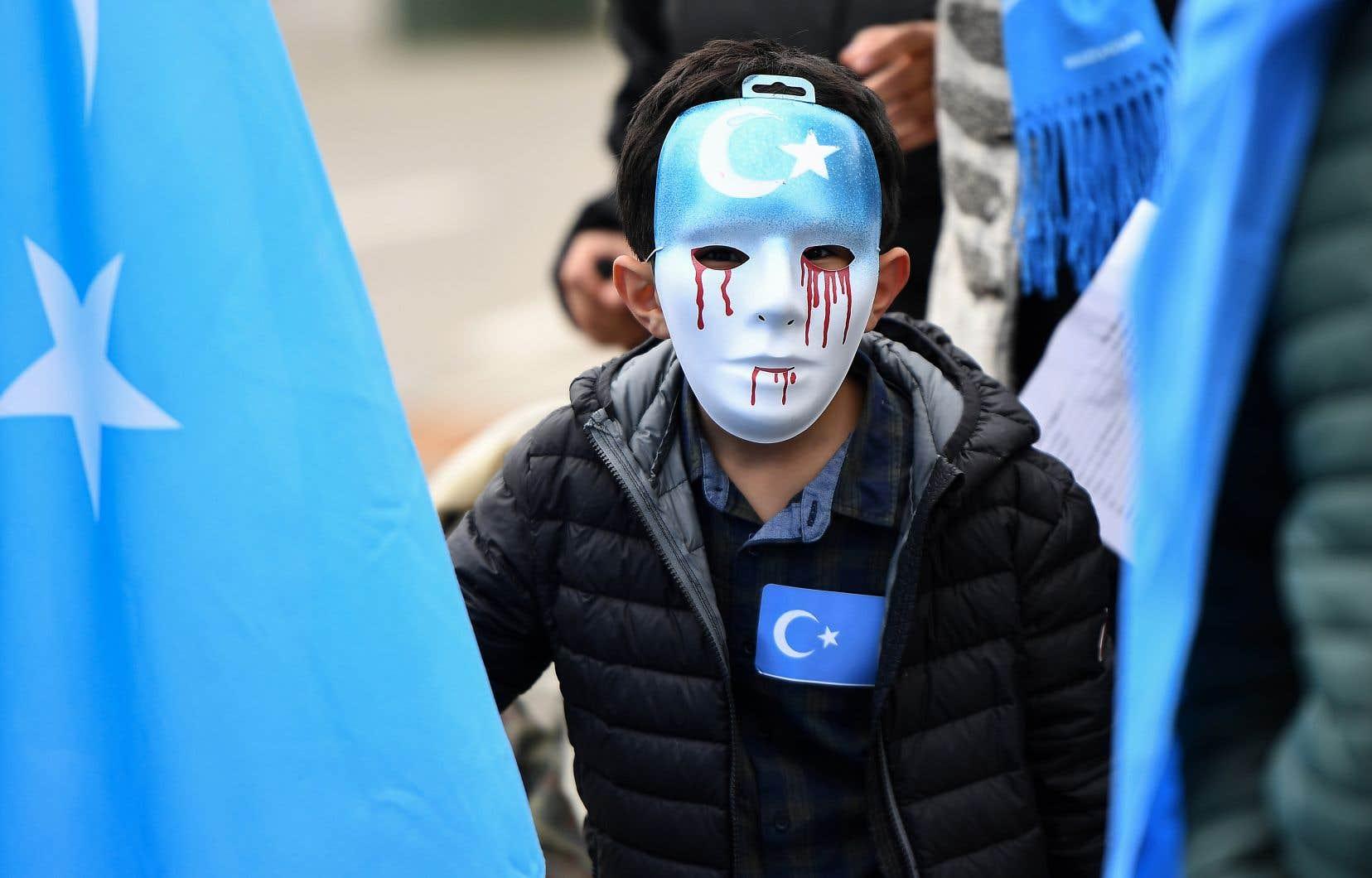 La Chine s'est attiré l'ire de la communauté internationale en emprisonnant dans des camps des membres de la minorité ouïghoure.