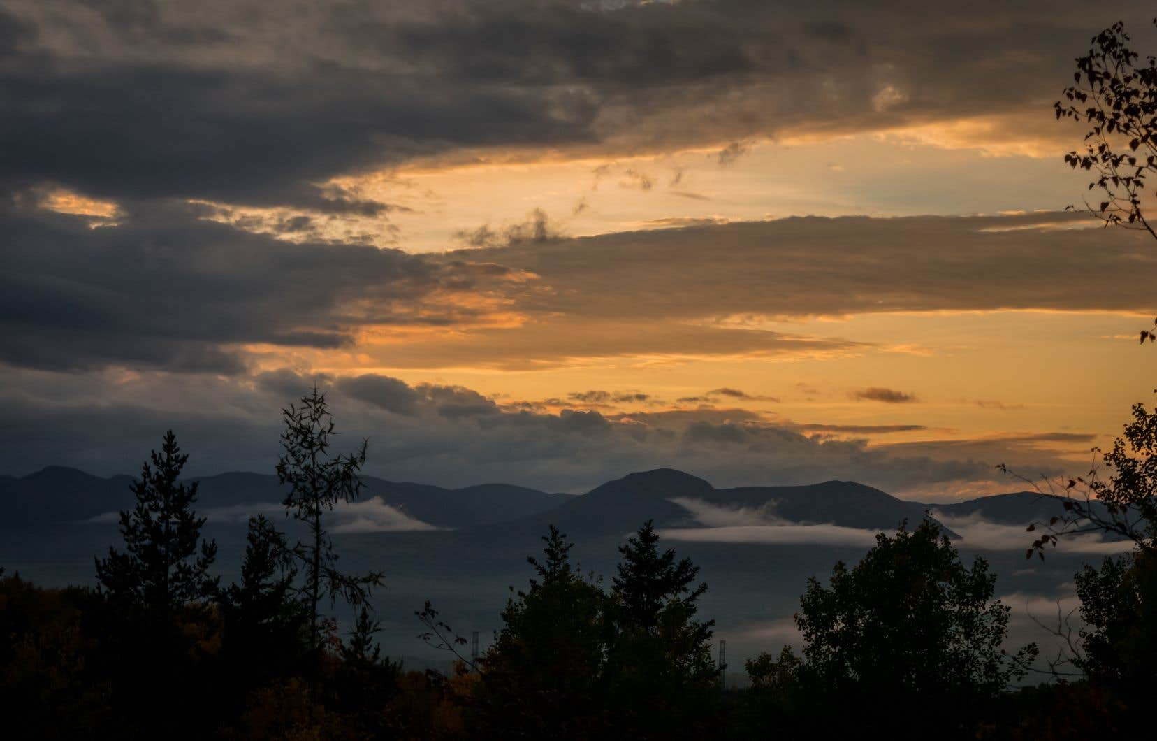 La région de Charlevoix, où Territoire proposera un concept de camping axé sur l'authenticité et l'intimité.