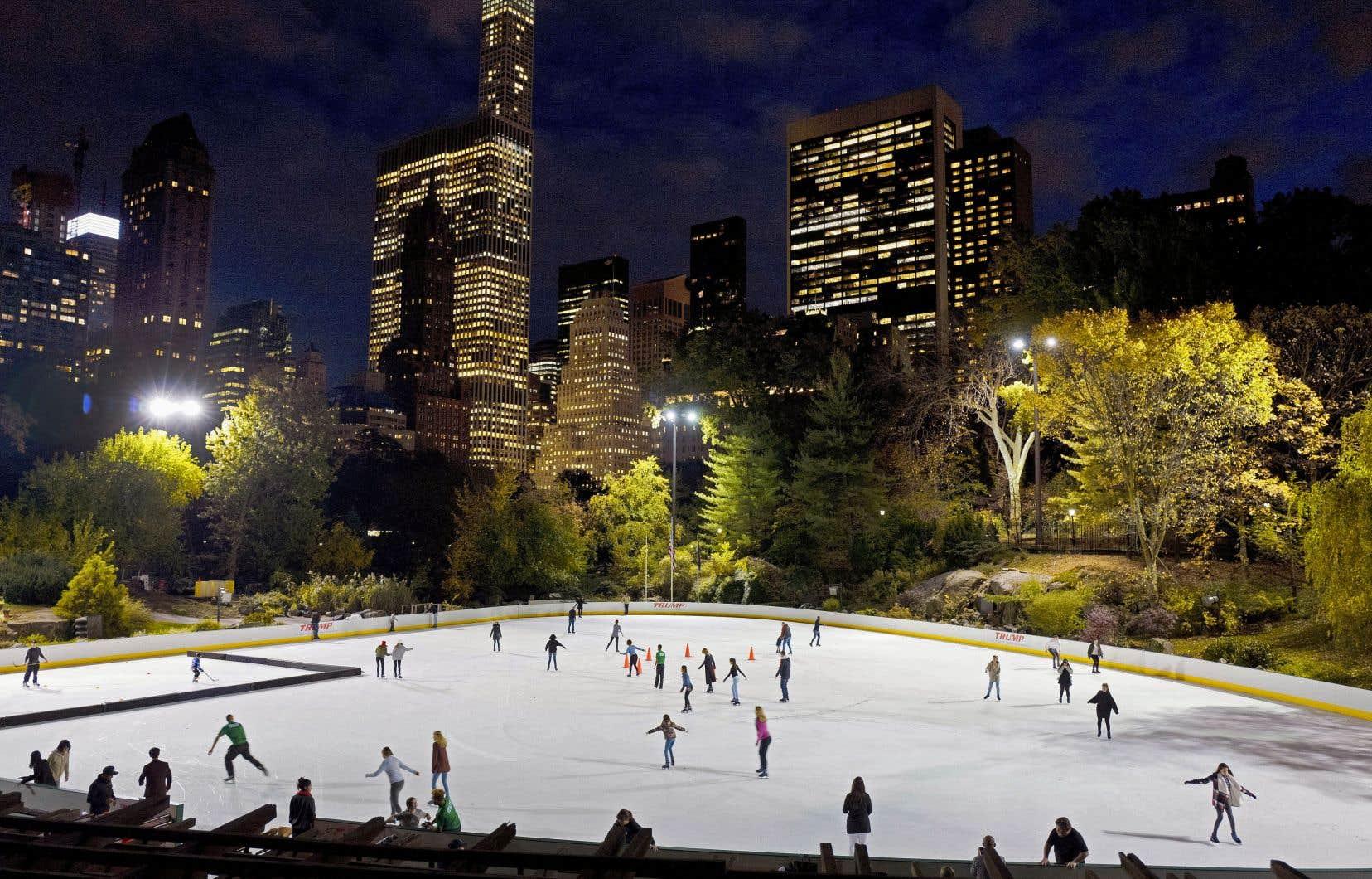 Dans les années 1980, la société de Donald Trump avait repris la gestion des deux patinoires de Central Park, dont la Wollman Rink, la plus connue et la plus touristique.