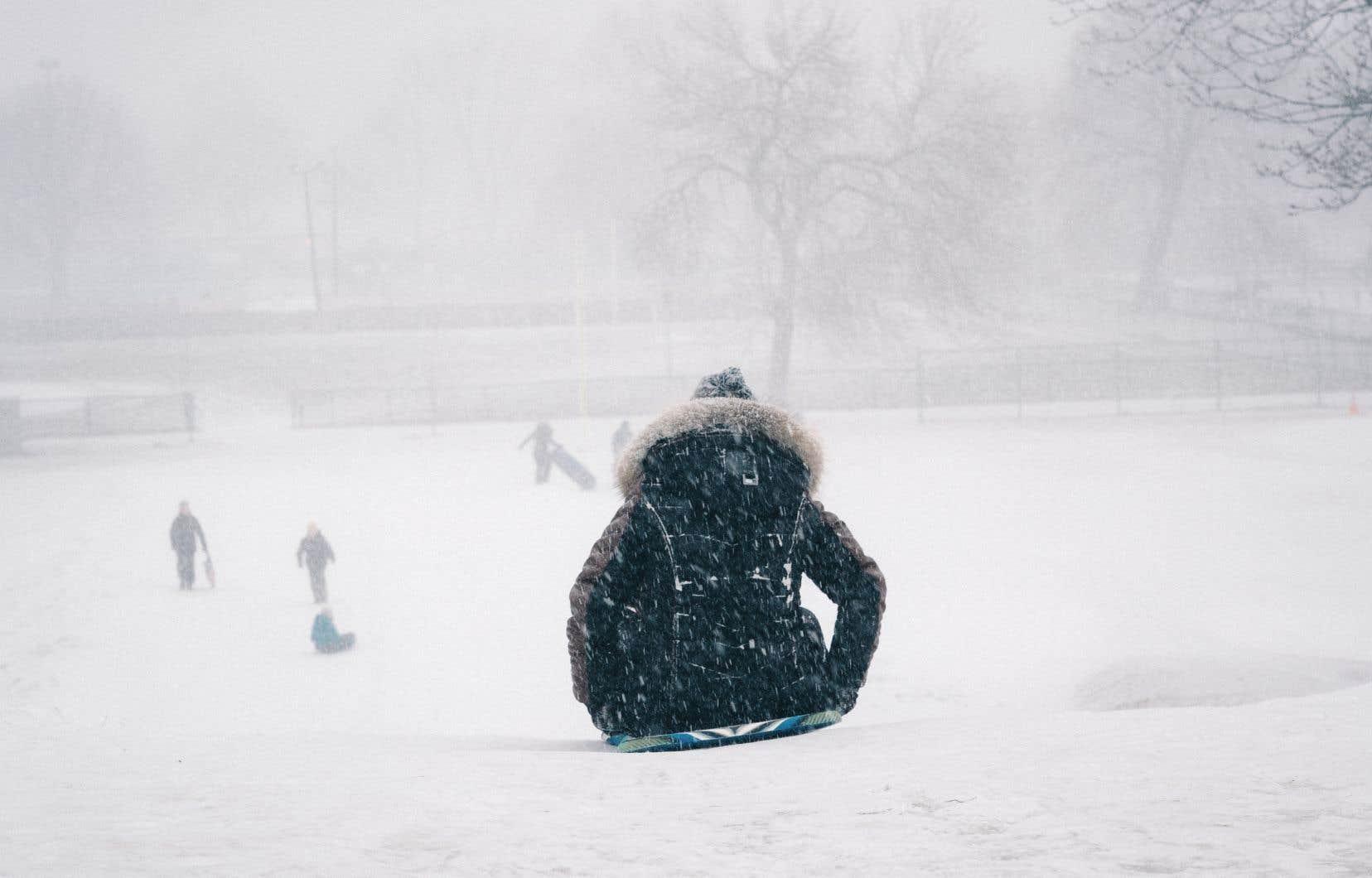Dans les régions de Montréal et de Québec, les accumulations de neige totaliseront entre 15 et 20 centimètres jusqu'à dimanche.