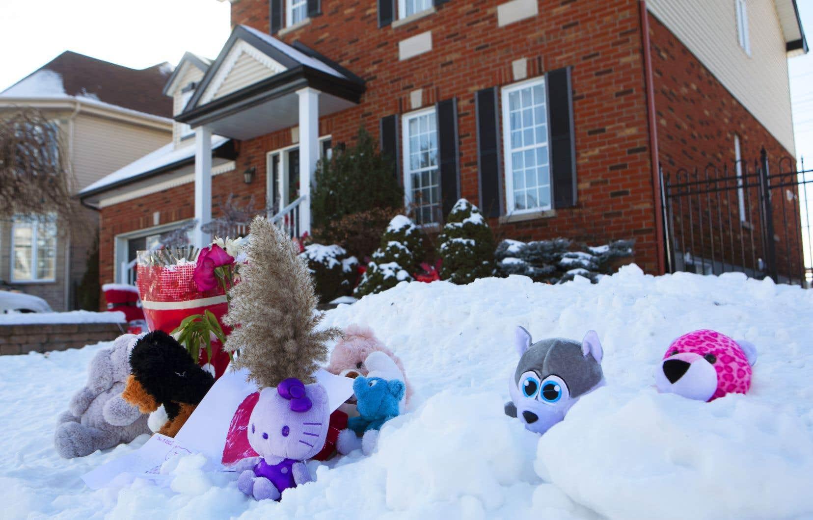 La fillette de 7ans avait été retrouvée morte dans le domicile familial le 3janvier dernier.
