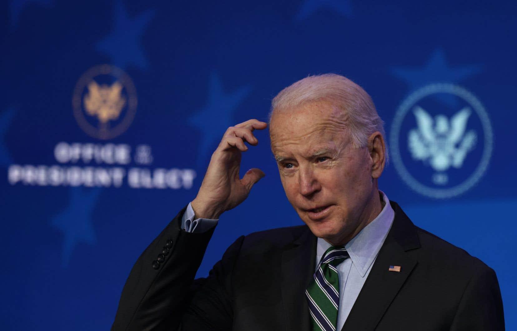 Sur le plan économique, Joe Biden prévoit aussi de prolonger le moratoire sur les expulsions et les saisies immobilières, lié à la pandémie.