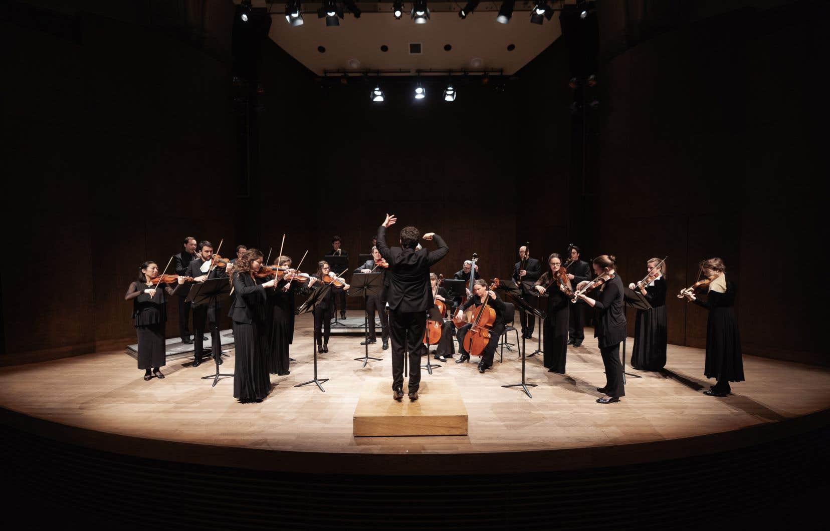 L'Arion Orchestre Baroque photographié en janvier 2020