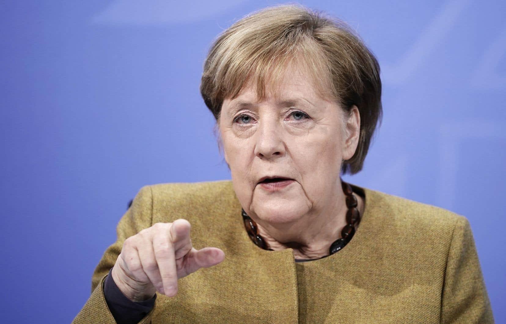 La dirigeante allemande s'apprête à céder son siège de chancelière après un règne record de 16 années.