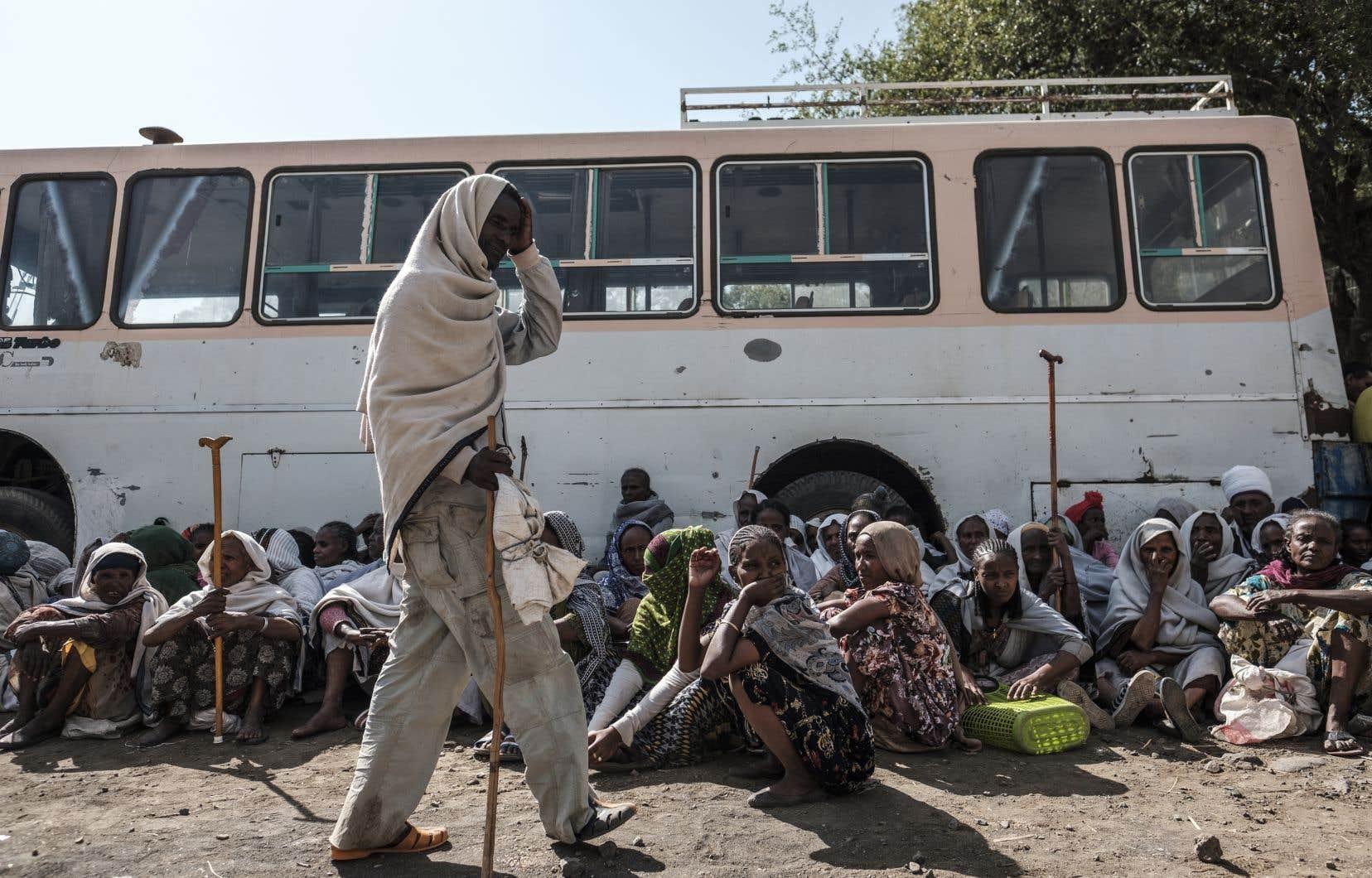 Les Nations unies s'inquiètent particulièrement de possibles exactions dans deux camps abritant plus de 30000 réfugiés érythréens, toujours inaccessibles.
