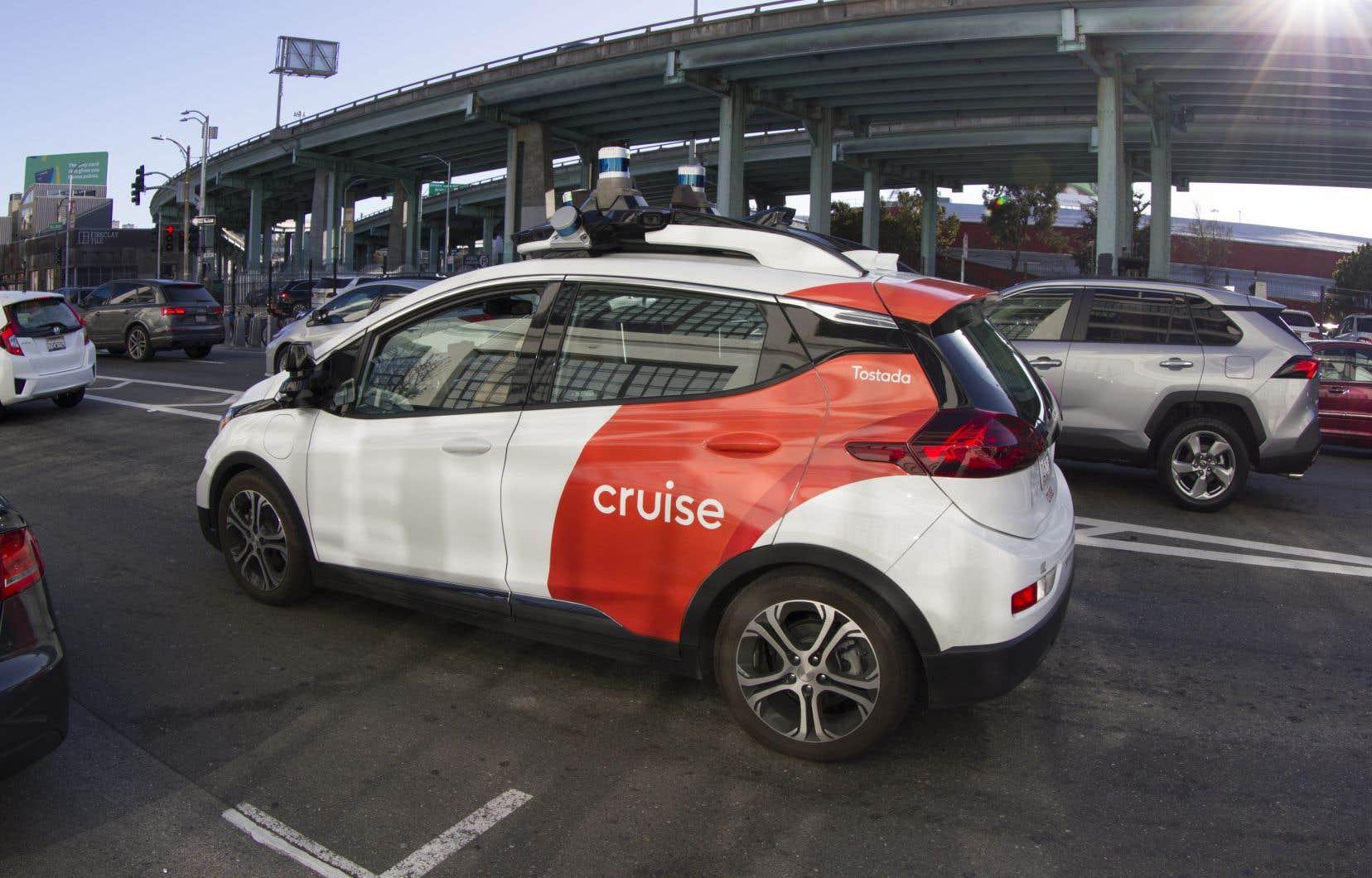 Microsoft a annoncé mardi qu'il apportait, aux côtés de Honda, de GM et d'autres investisseurs, plus de 2 milliards de dollars à Cruise, la filiale de voitures autonomes de GM.