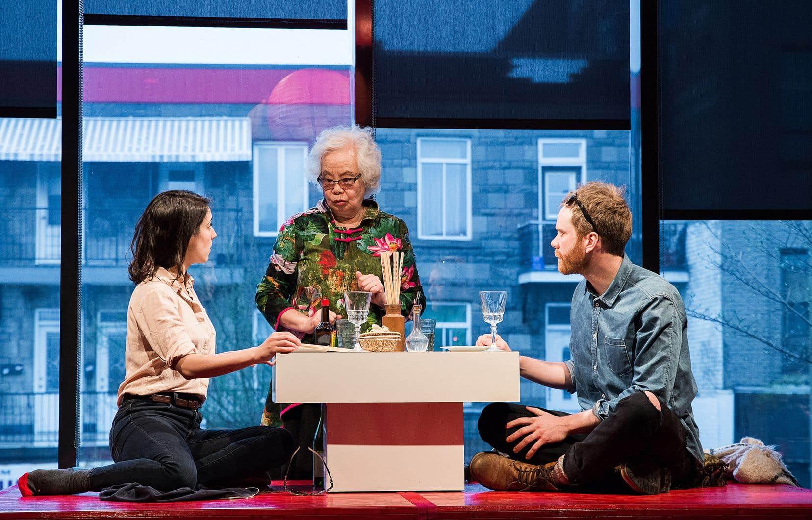 «L'amour est un dumpling» est une délicieuse petite comédie de Mathieu Quesnel et Nathalie Doummar.