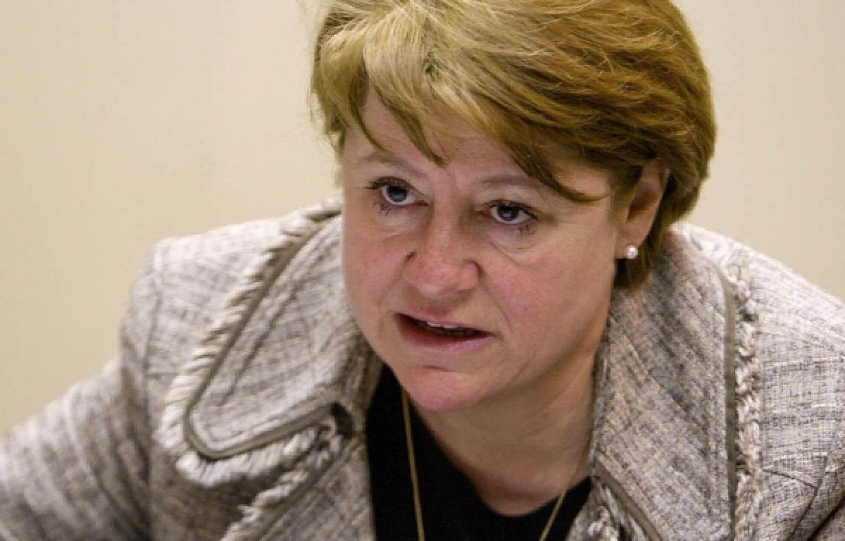 La présidente du CSF, Christiane Pelchat, souhaite une réflexion nationale sur la laïcité de l'État.