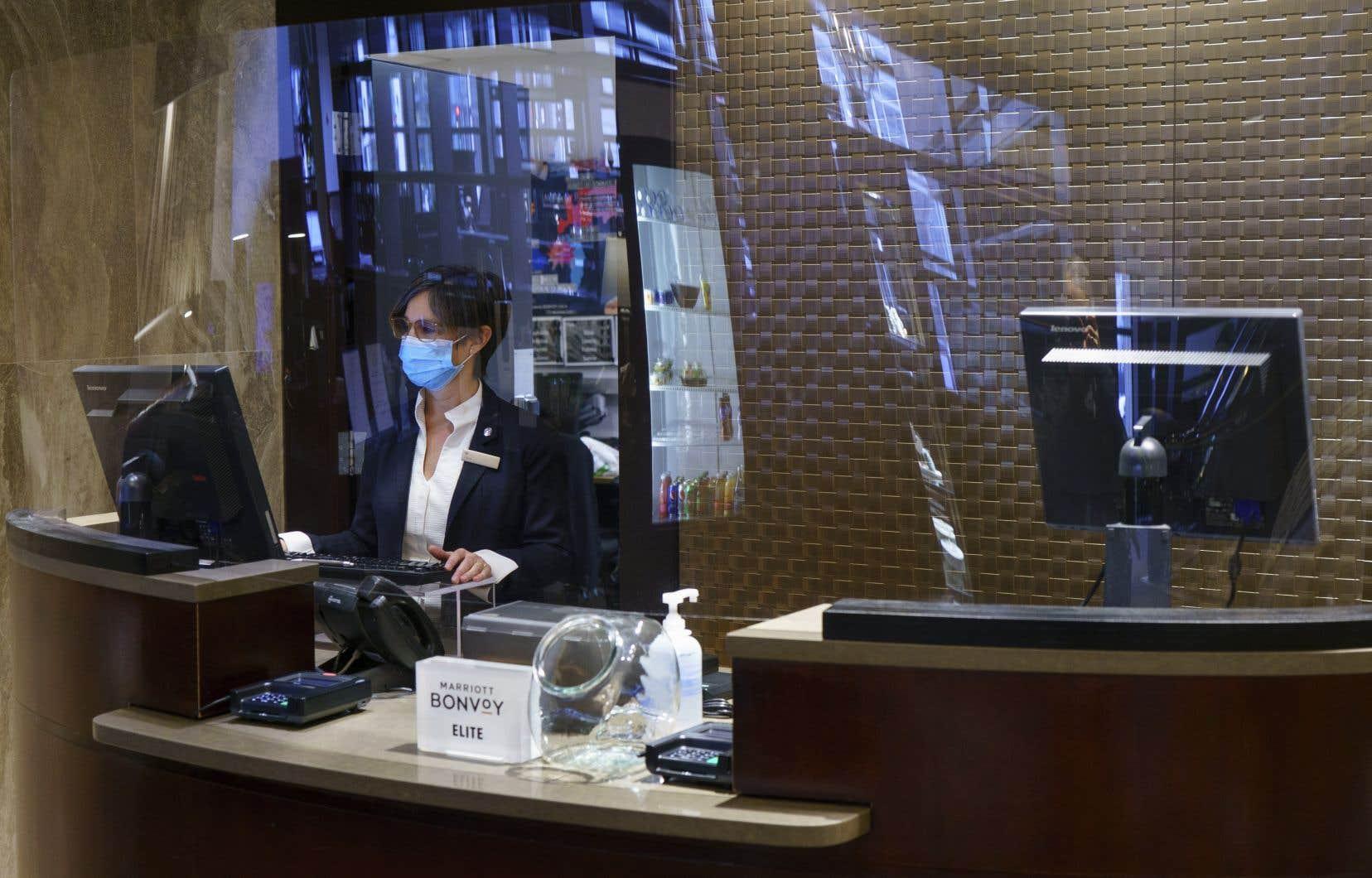 L'idée d'une quarantaine obligatoireest bien accueillie par l'industrie hôtelière, dont les taux d'occupation sont anémiques depuis le début de la pandémie.