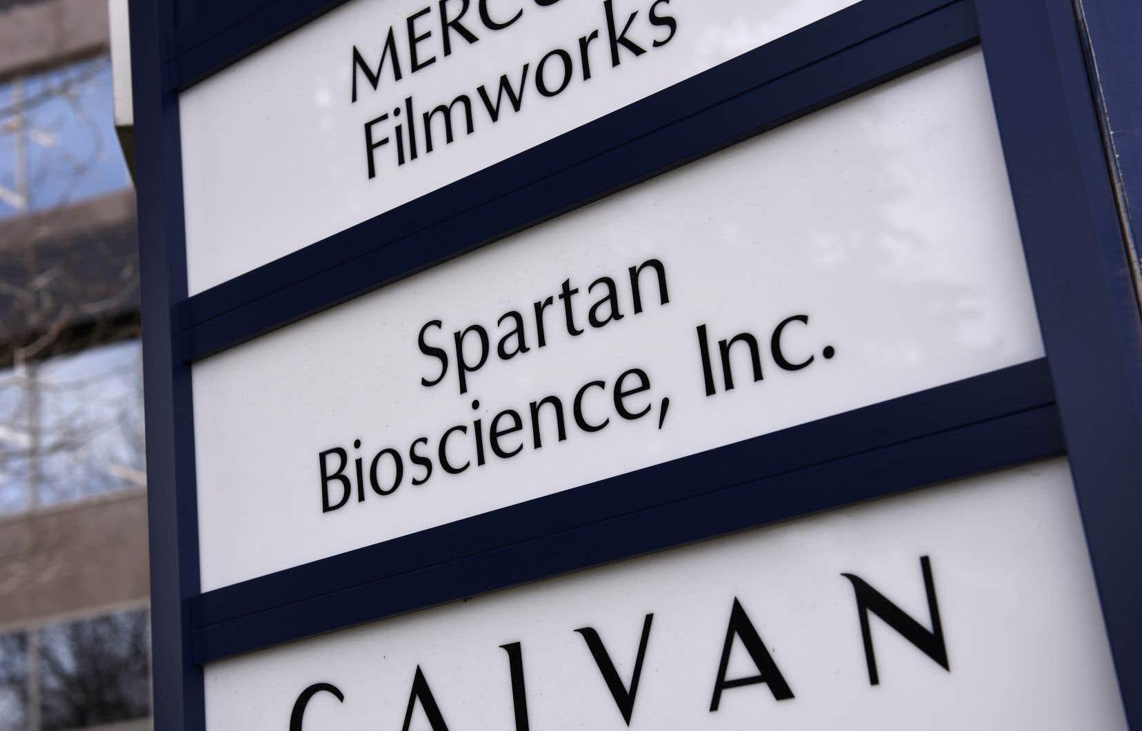 Selon Spartan, il s'agit du «premier vrai test de dépistage de la COVID-19 PCR mobile et rapide destiné au marché canadien».