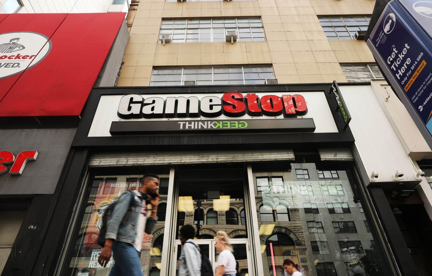 La société FameStop fait partie des entreprises de Wall Street les plus ciblées par des spéculateurs.