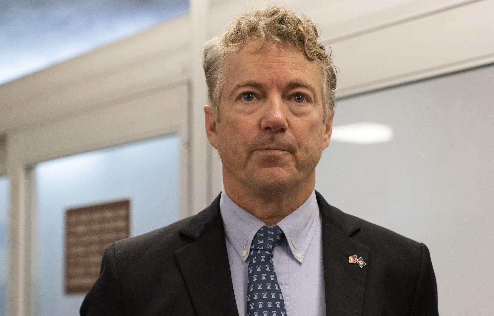 Le républicain sénateur républicain libertarien Rand Paul a fait valoir que ce procès en destitution de Donald Trump est anticonstitutionnel puisque le  milliardaire n'est plus en fonction.