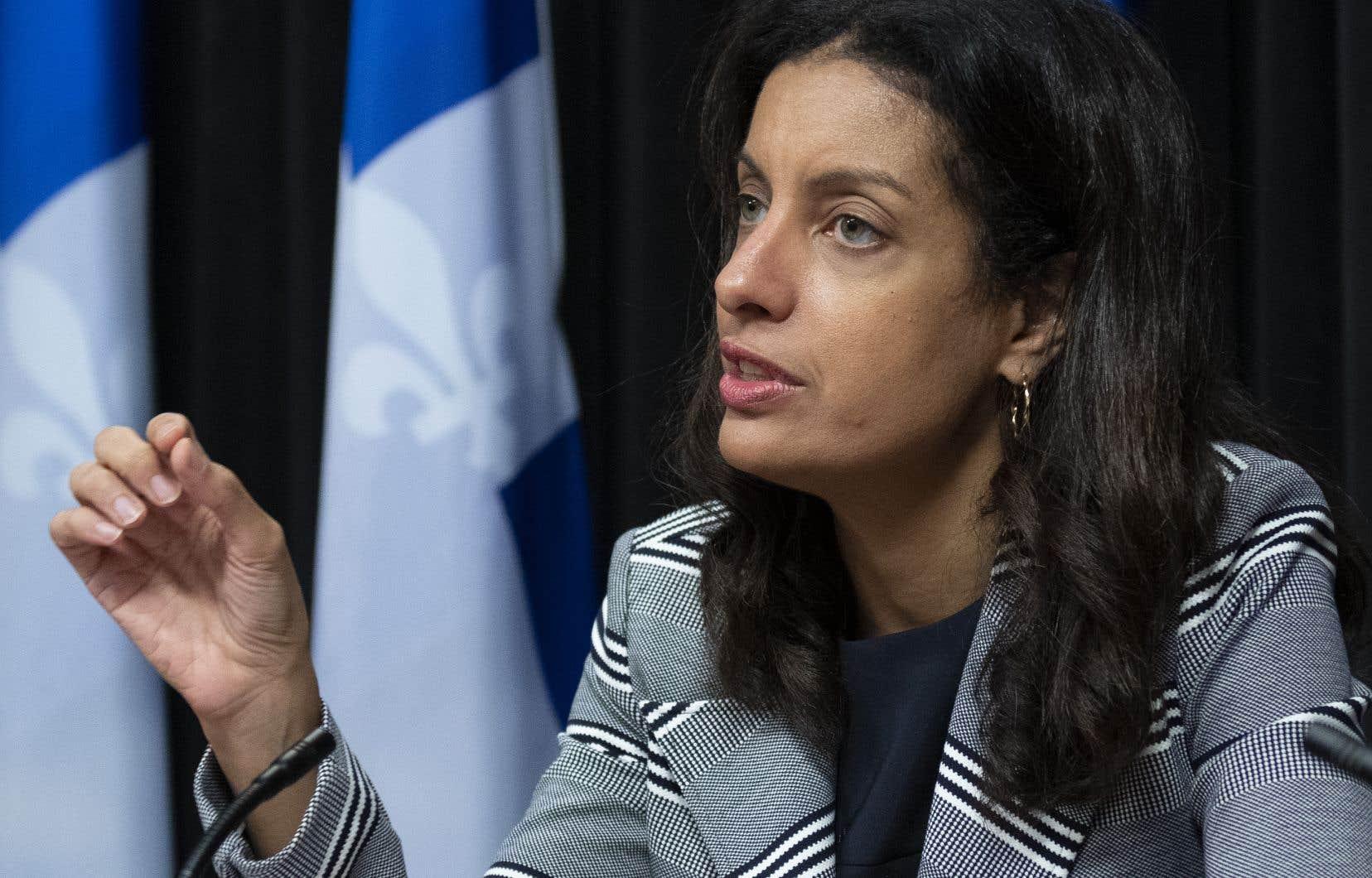 La cheffe libérale, Dominique Anglade