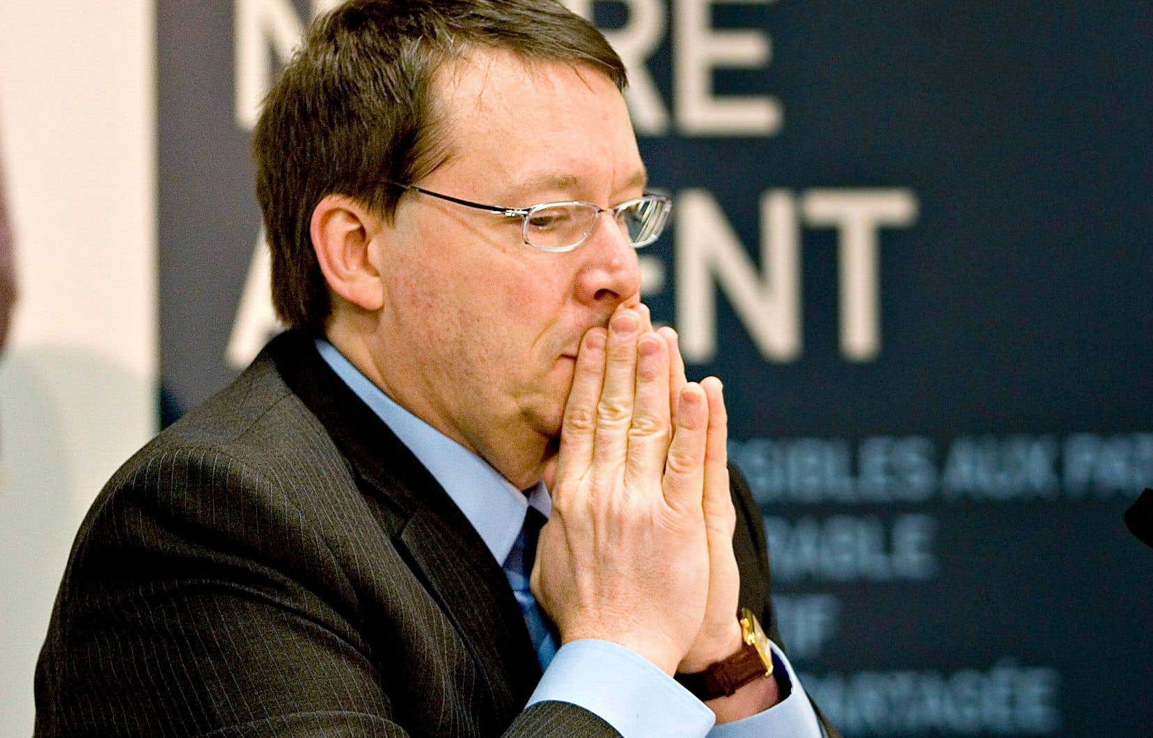 L'ancien directeur de l'Institut du Nouveau Monde (INM)Michel Venne est accusé d'agression sexuelle et d'exploitation sexuelle pour des gestes posés en 2008.