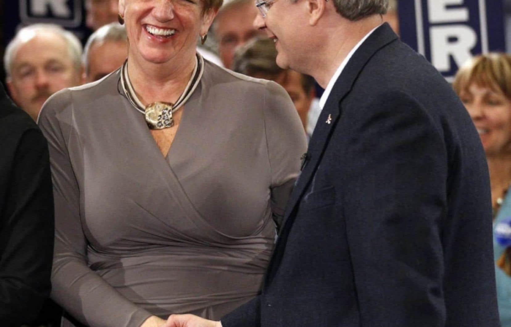 Hier à St. John's, en présence de la première ministre de Terre-Neuve, Kathy Dunderdale, Stephen Harper a fait cette annonce lors d'une assemblée de partisans.