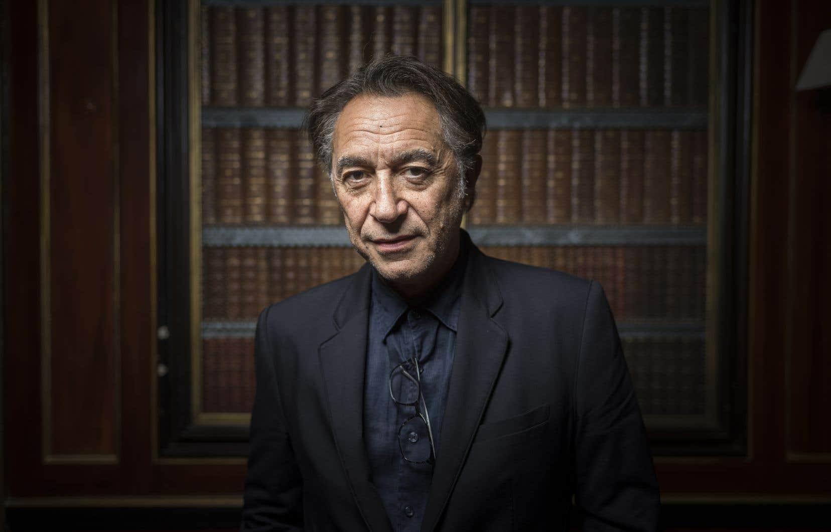 L'acteur français Richard Berry