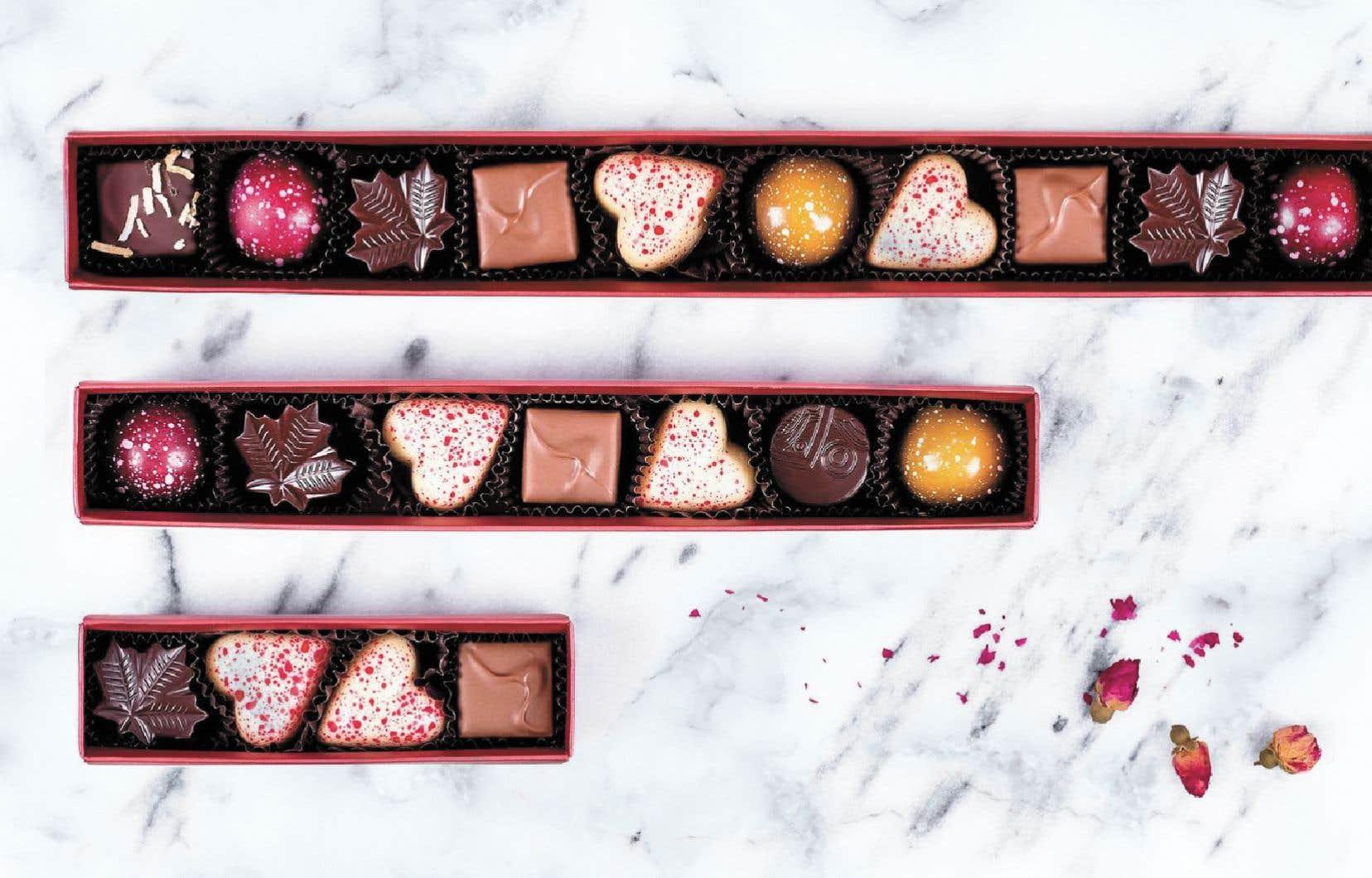 Chocolat Boréal, une chocolaterie située dans le quartier Sud-Ouest à Montréal, propose des produits qui mettent en valeur le terroir québécois.