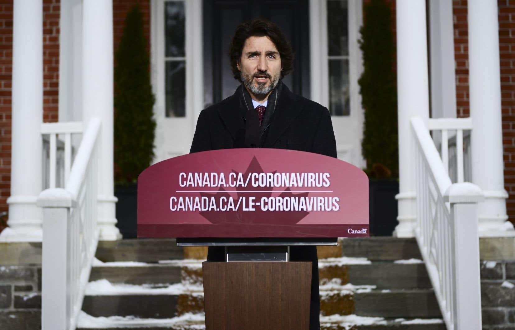 «Je comprends que les provinces sont en train de faire face à des défis énormes», a reconnu JustinTrudeau vendredi.