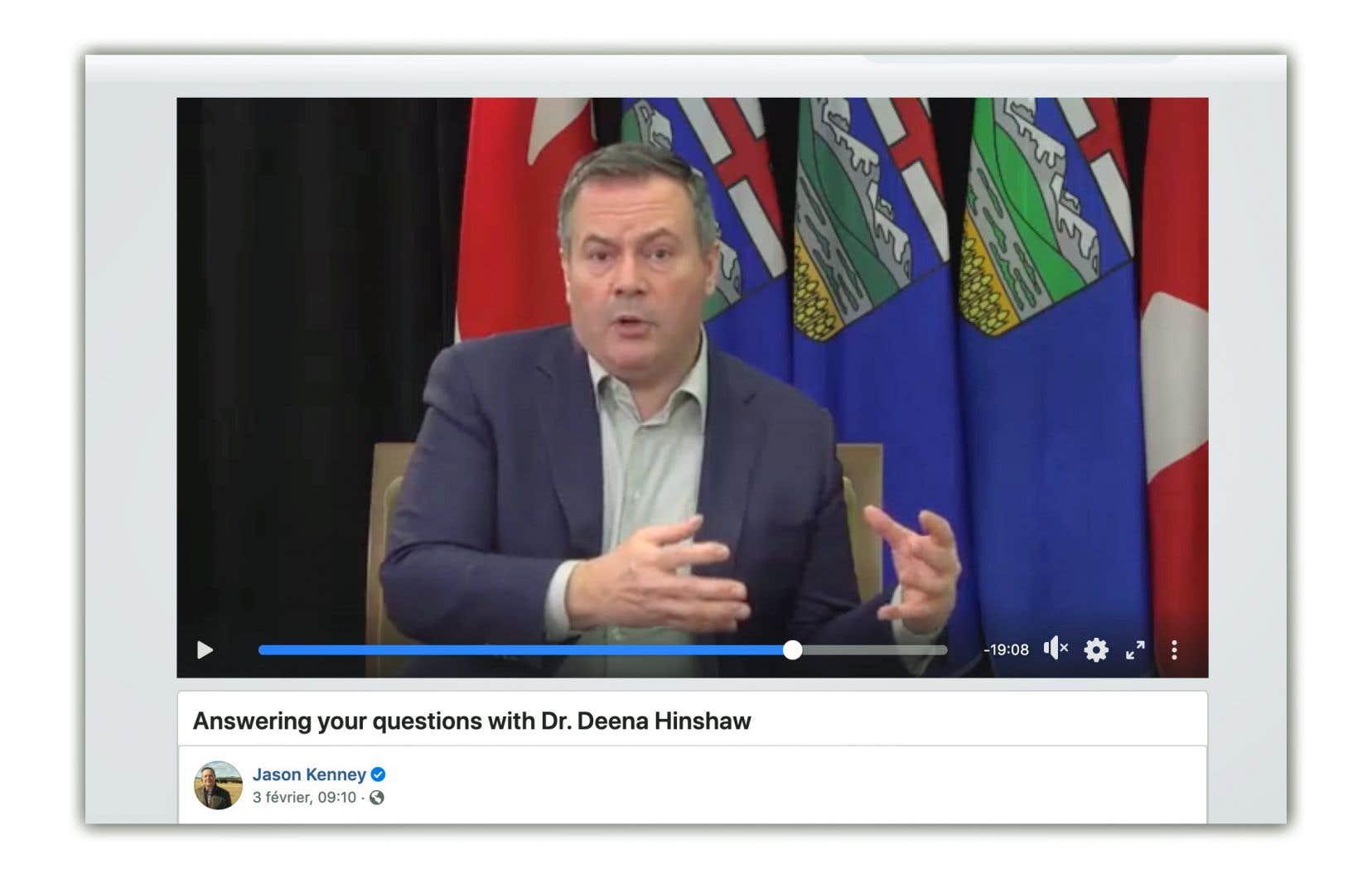 «Si les variants prennent le dessus, nous devrons peut-être revenir à une politique plus dure que celle de début décembre», a annoncé mercredi le premier ministre de la province, Jason Kenney, lors de son Facebook en direct.