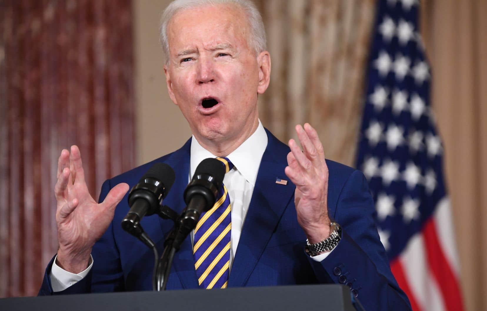 Joe Biden a promis de revenir dans l'accord sur le nucléaire, à la condition que l'Iran renoue d'abord avec ses engagements.