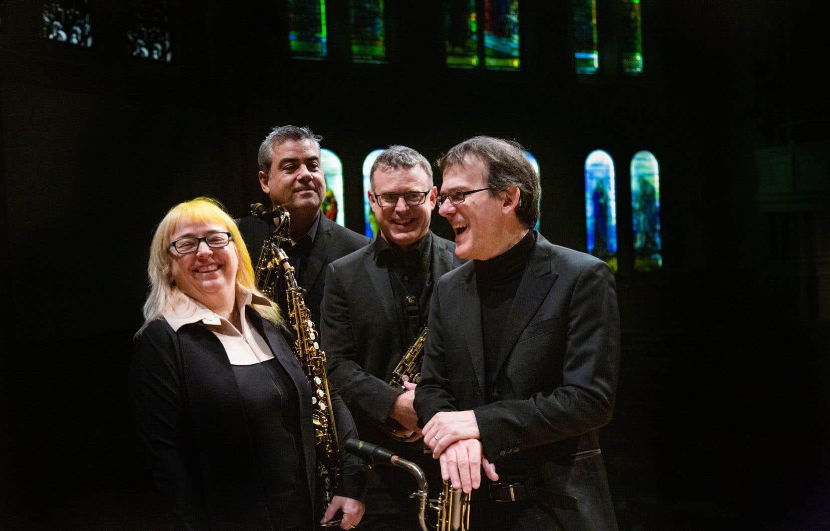 Après avoir fêté ses 25 ans en 2020, le Quatuor Quasar, honoré au Prix Opus, sera en concert à Montréal/Nouvelles Musiques le 26 février et au Vivier le 18 mars.